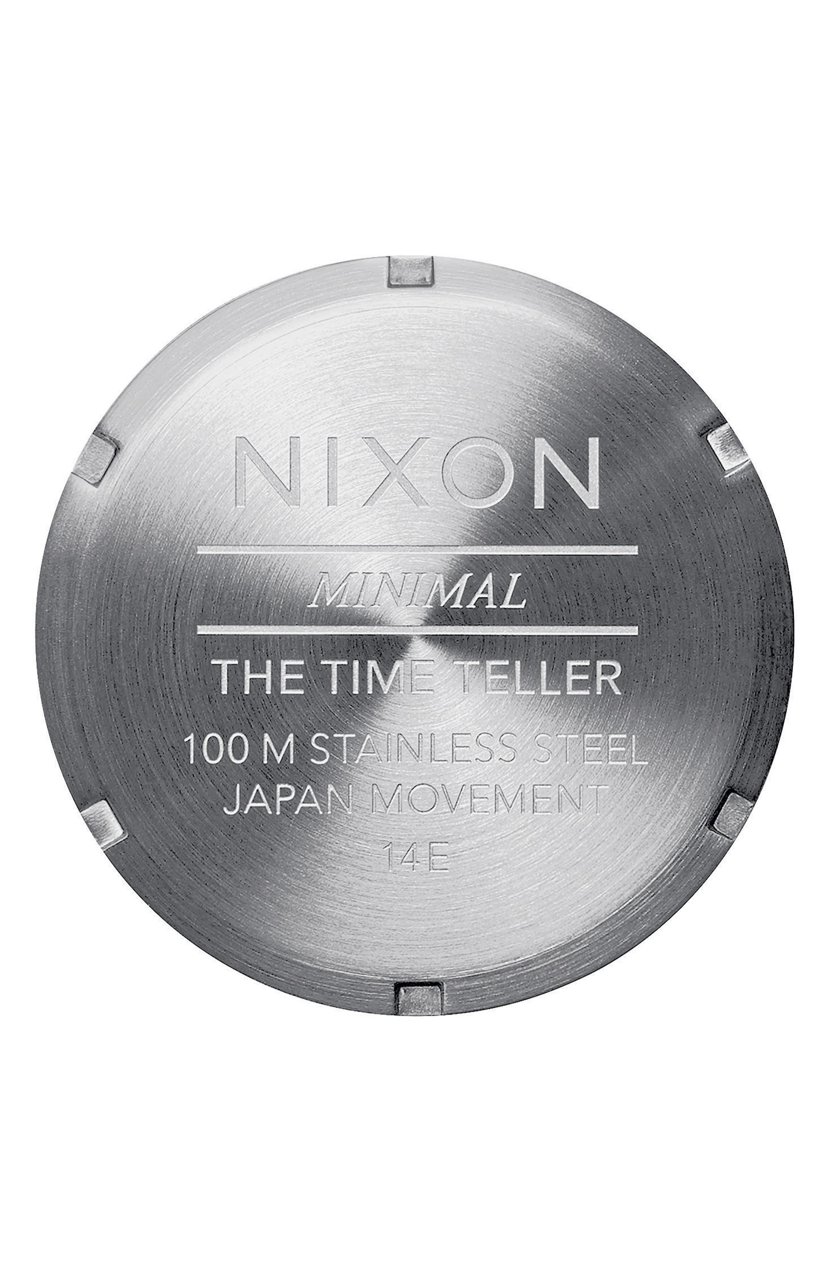 Time Teller Bracelet Watch, 37mm,                             Alternate thumbnail 4, color,