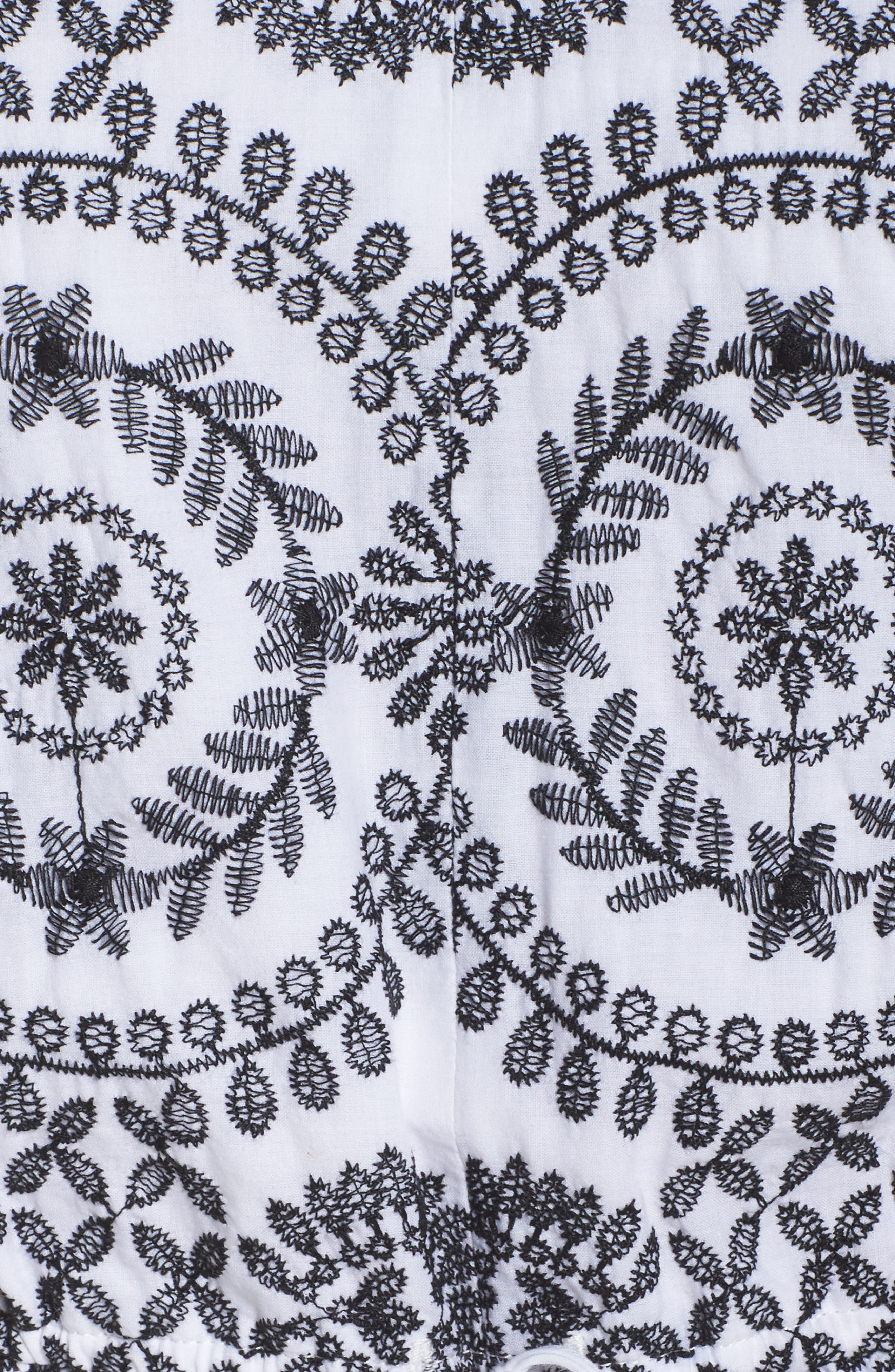 Embroidered Tile Pattern Dress,                             Alternate thumbnail 6, color,