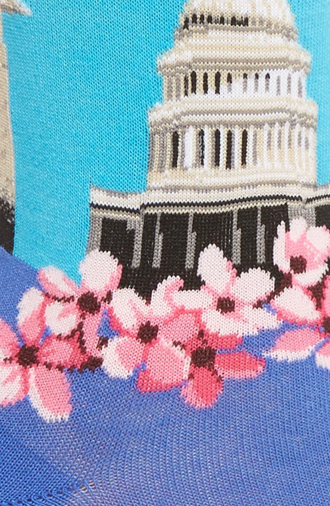 Washington DC Crew Socks,                             Alternate thumbnail 2, color,