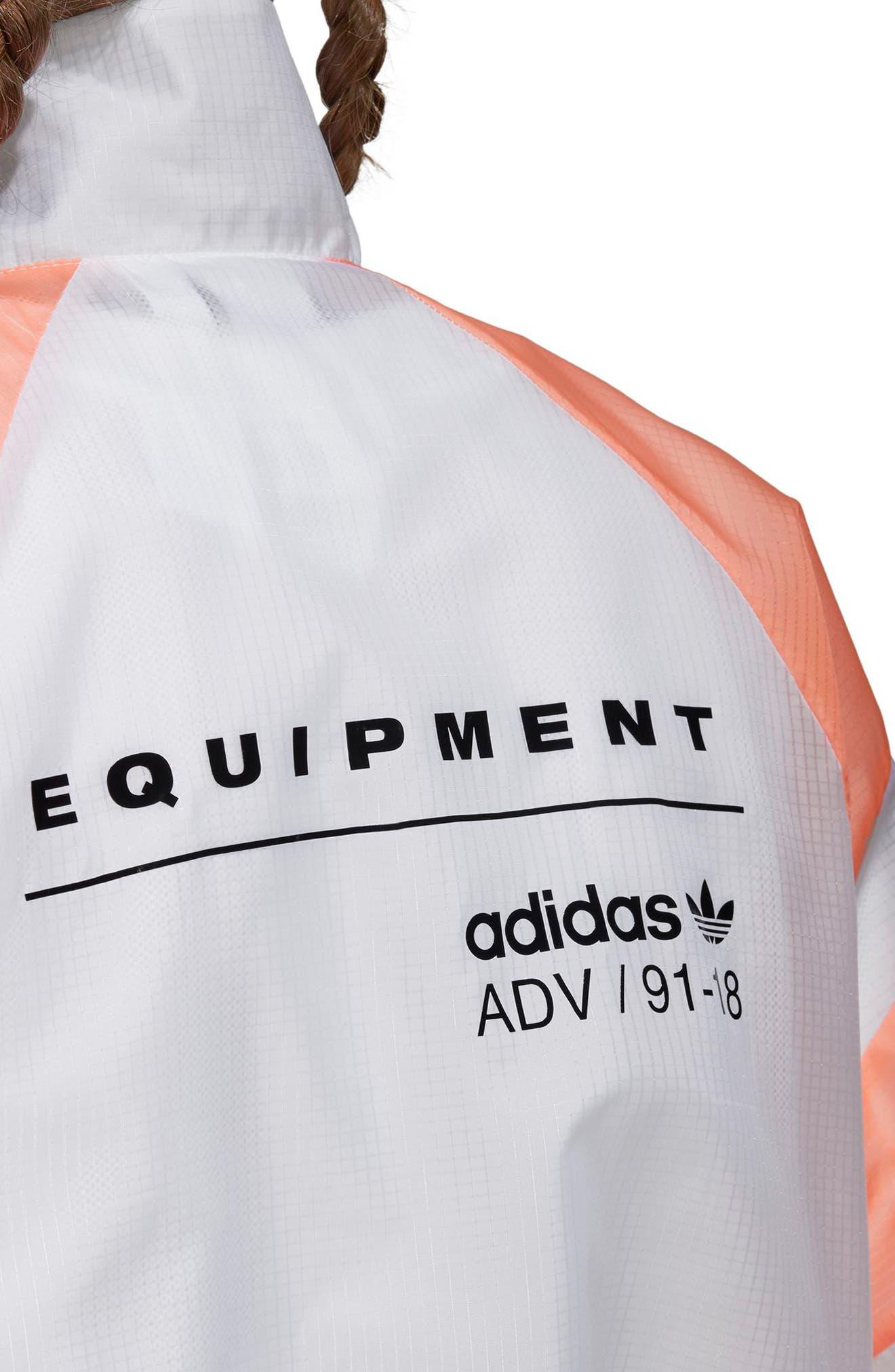 EQT Track Jacket,                             Alternate thumbnail 3, color,                             100