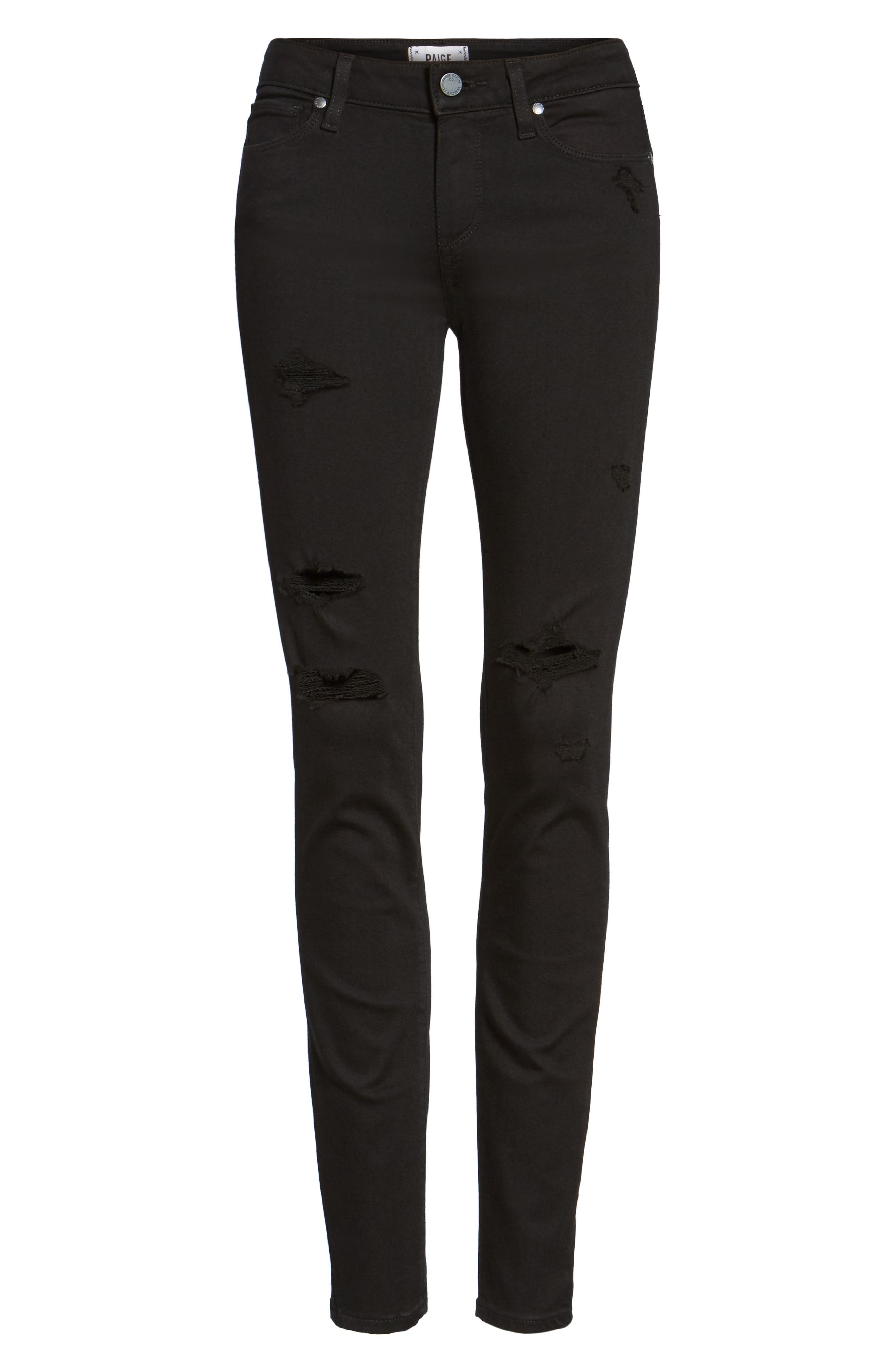 Transcend - Verdugo Ultra Skinny Jeans,                             Alternate thumbnail 2, color,                             001