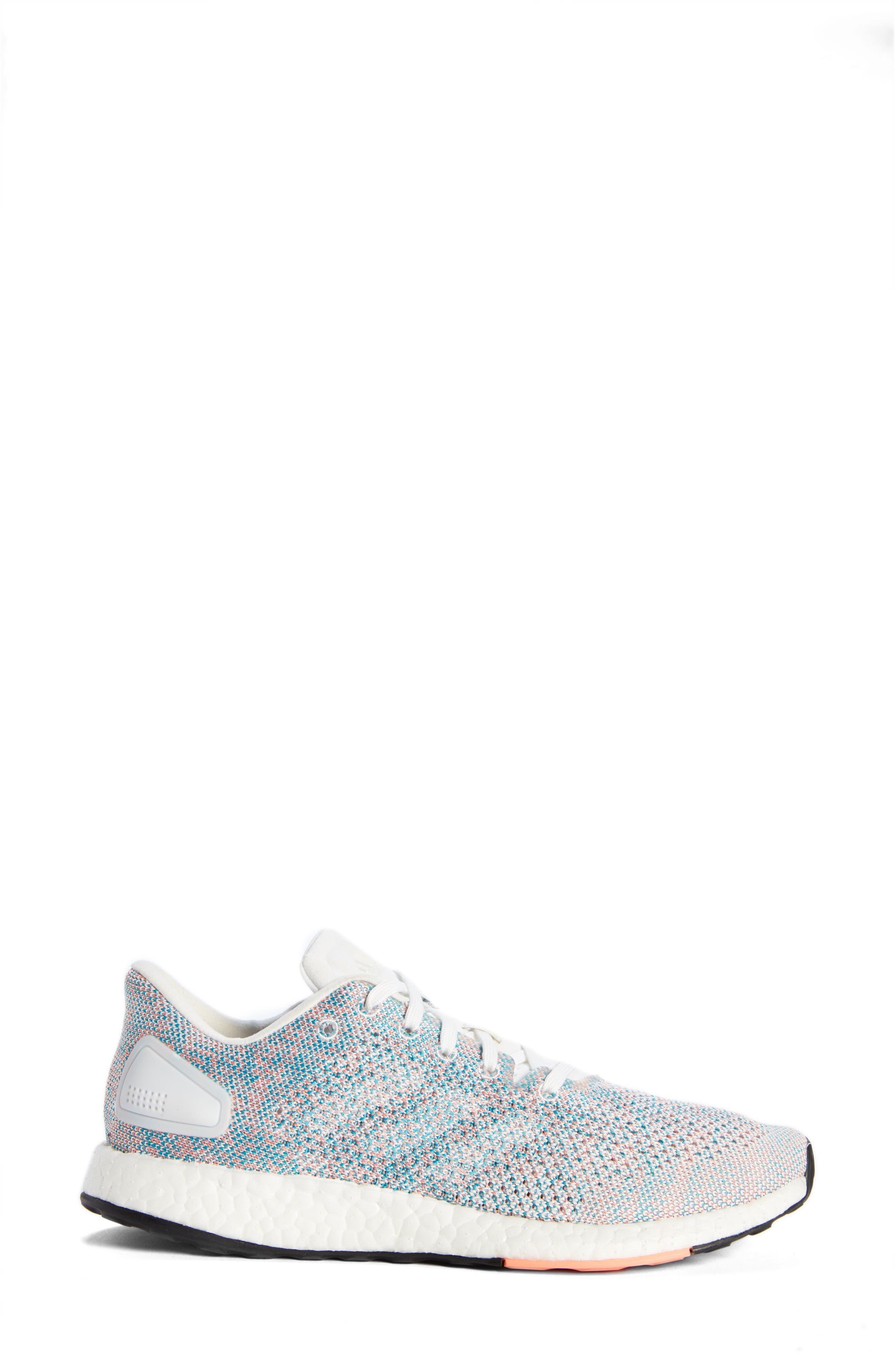 PureBoost DPR Running Shoe,                             Alternate thumbnail 3, color,                             100