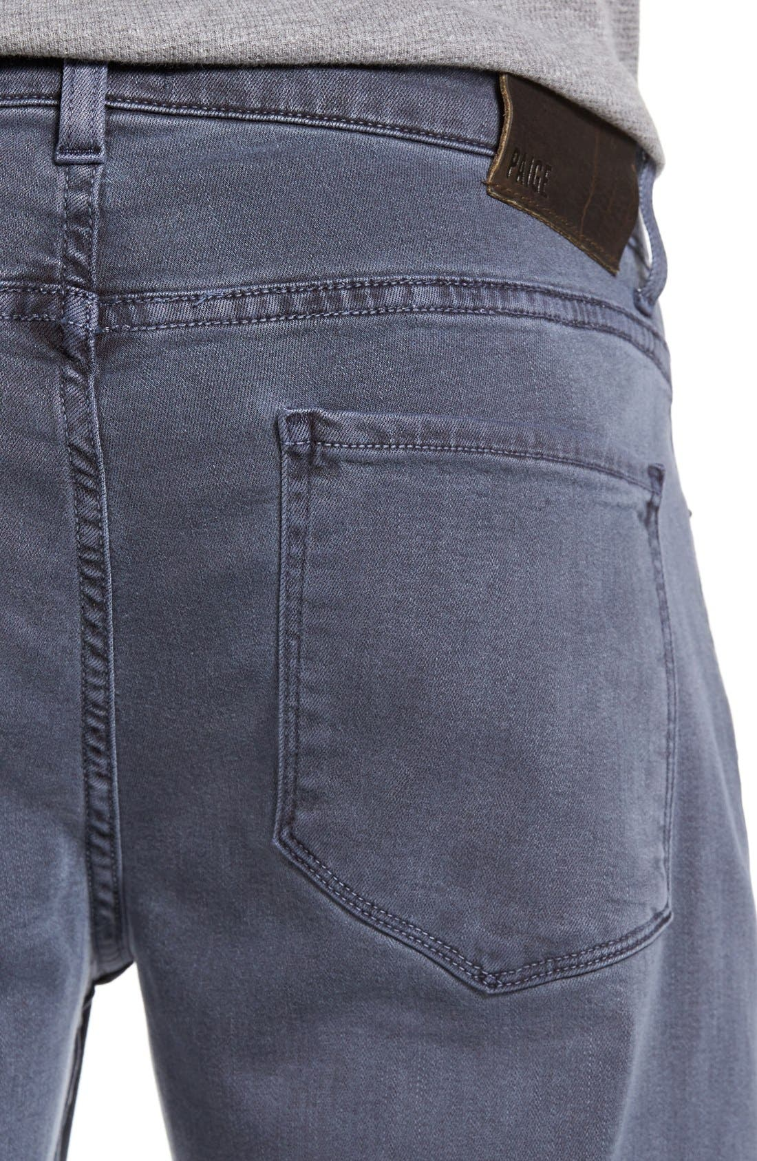 Transcend - Federal Slim Straight Leg Jeans,                             Alternate thumbnail 5, color,                             VINTAGE NAVY