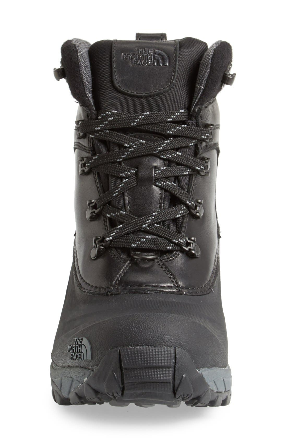'Chilkat II Luxe' Snow Boot,                             Alternate thumbnail 4, color,                             001