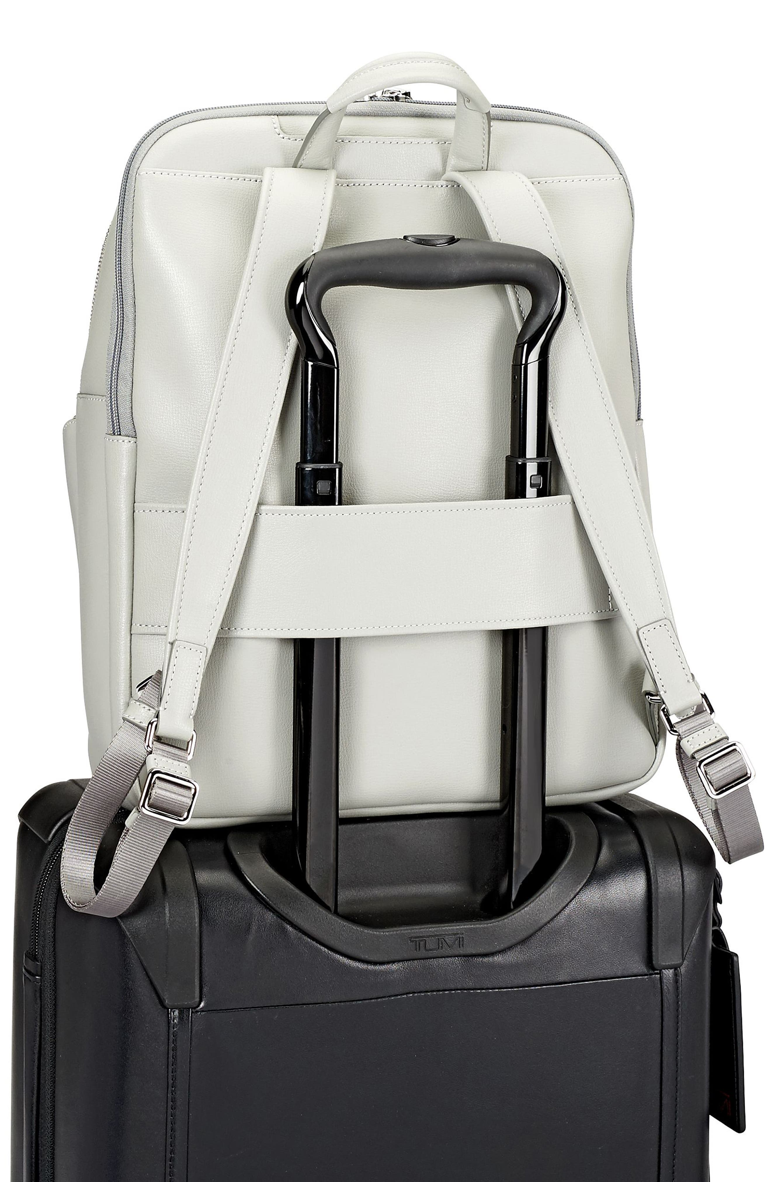 Stanton Hettie Leather Backpack,                             Alternate thumbnail 12, color,