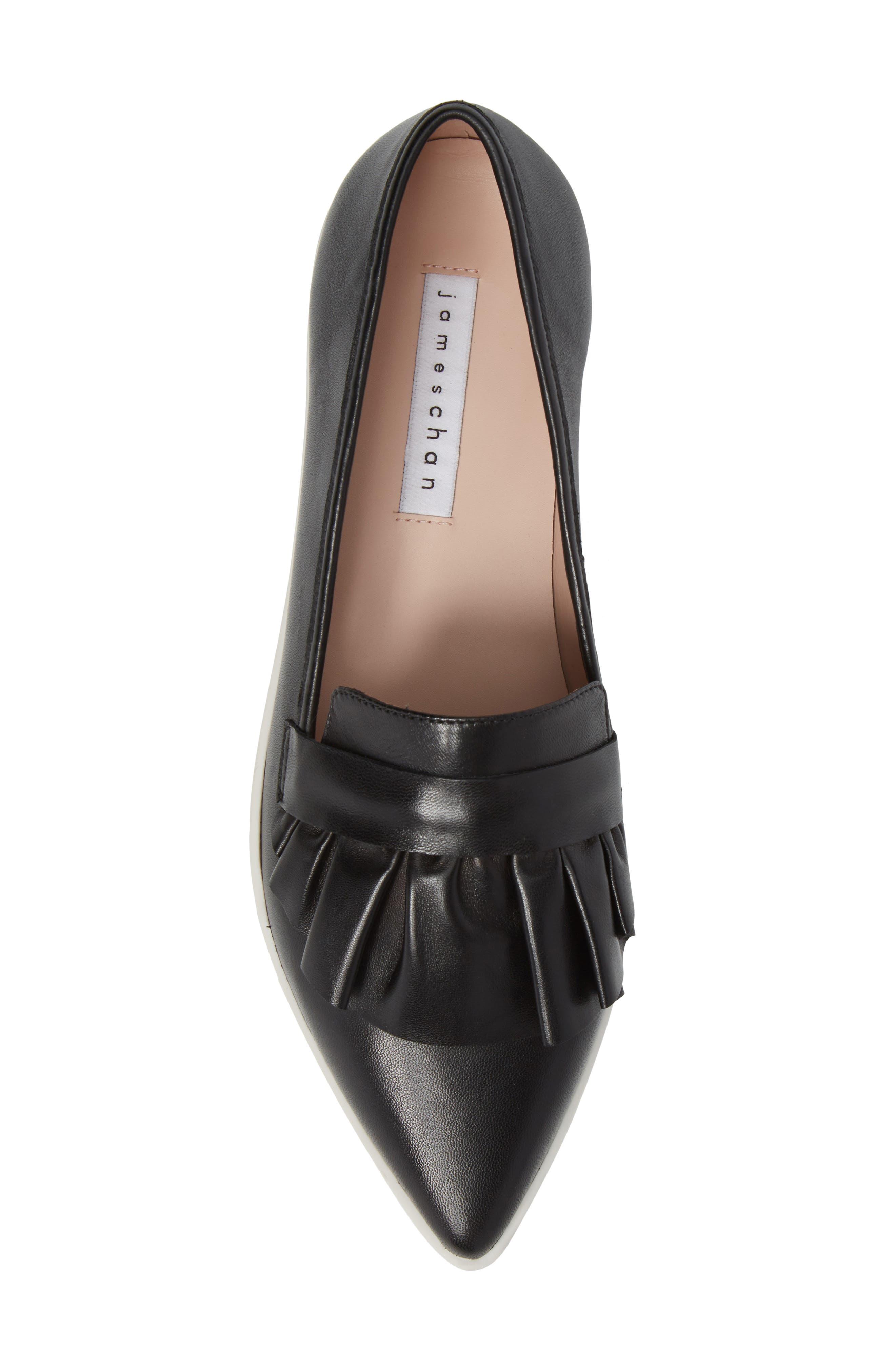 Taraji Ruffle Slip-On Sneaker,                             Alternate thumbnail 17, color,