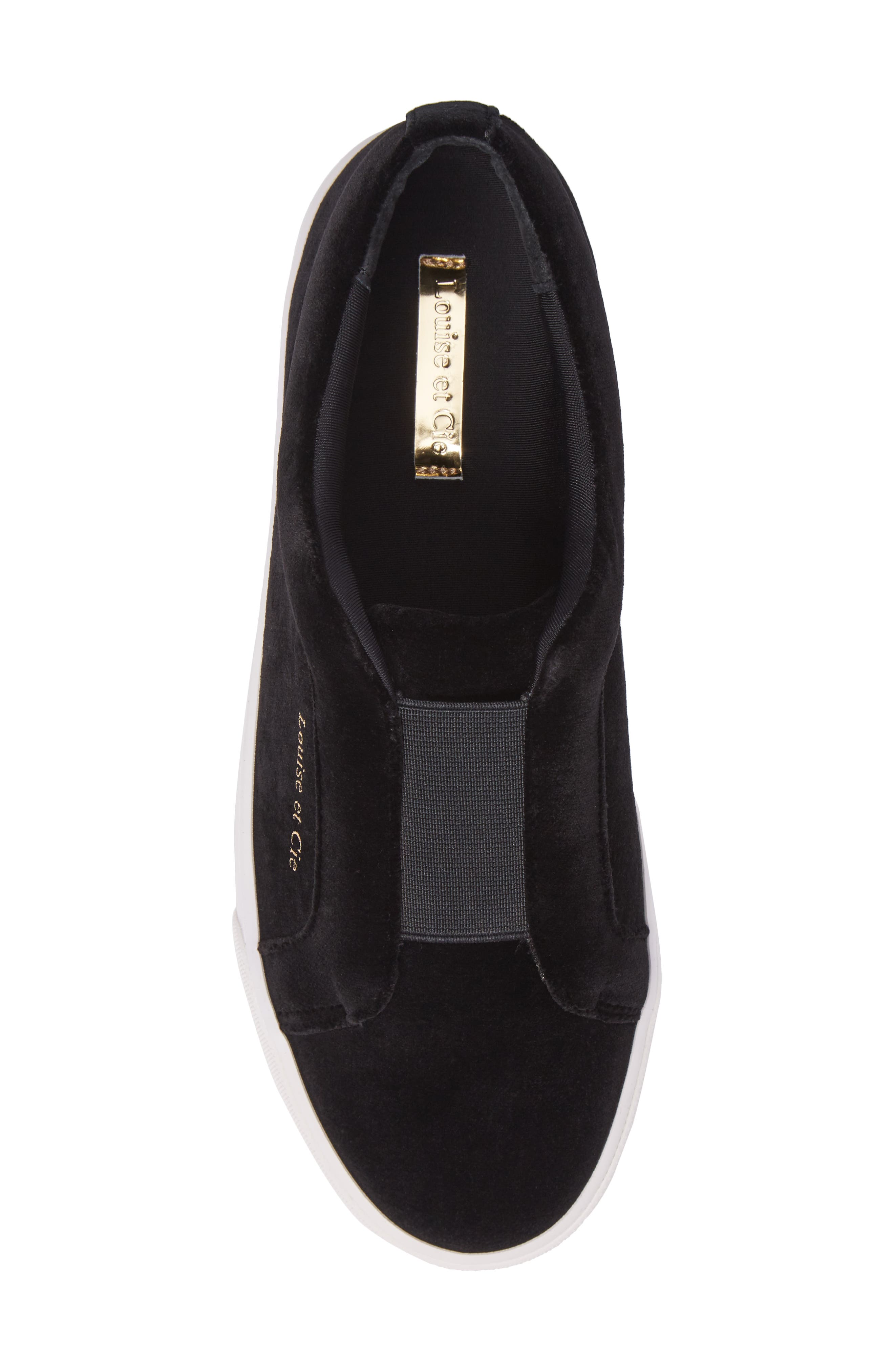 Bette Slip-On Sneaker,                             Alternate thumbnail 5, color,                             001