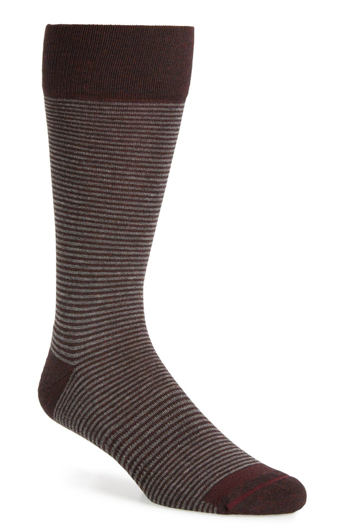 Feeder Stripe Socks,                             Main thumbnail 14, color,