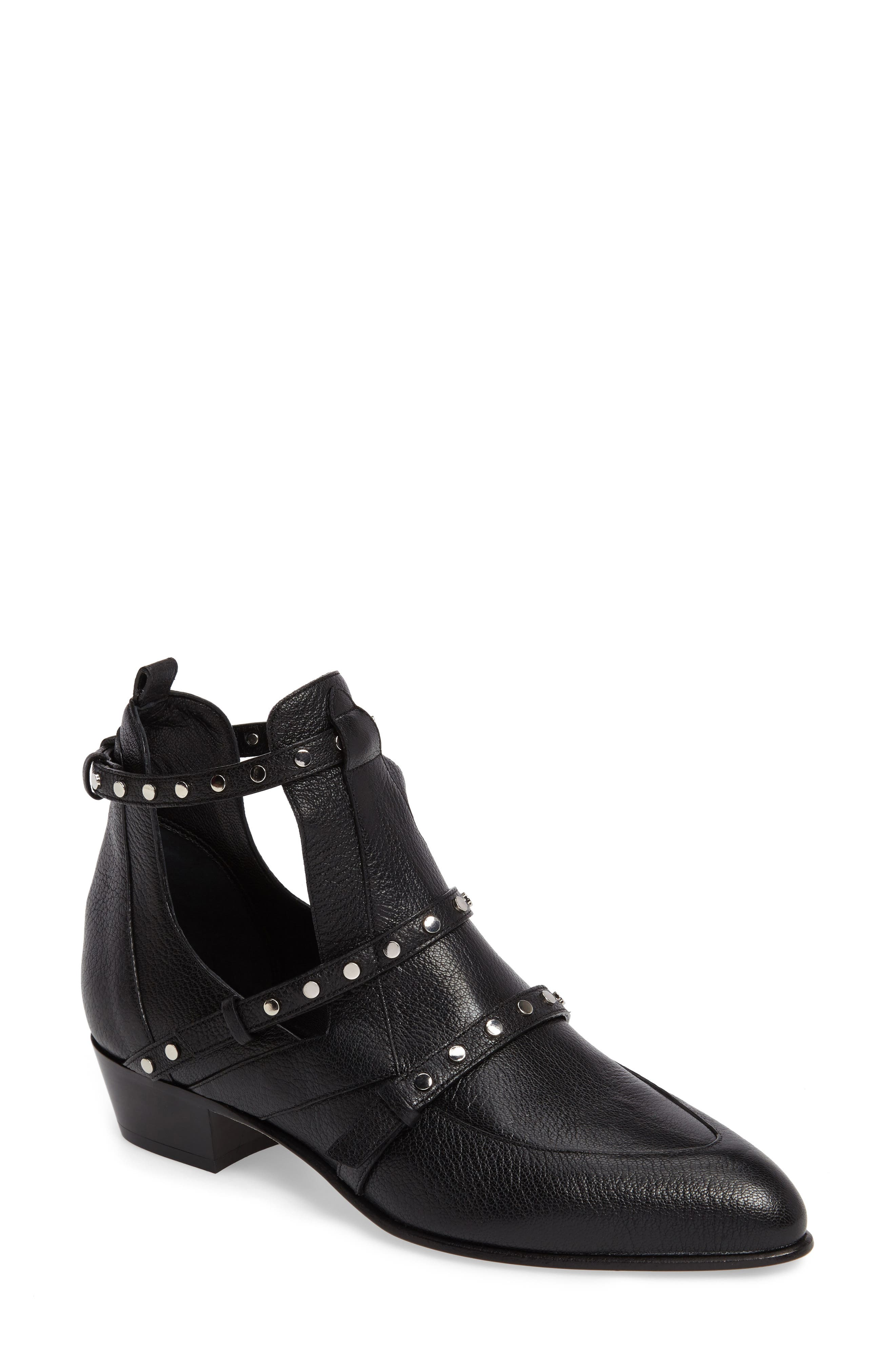 Harley Cutout Bootie,                         Main,                         color, 001