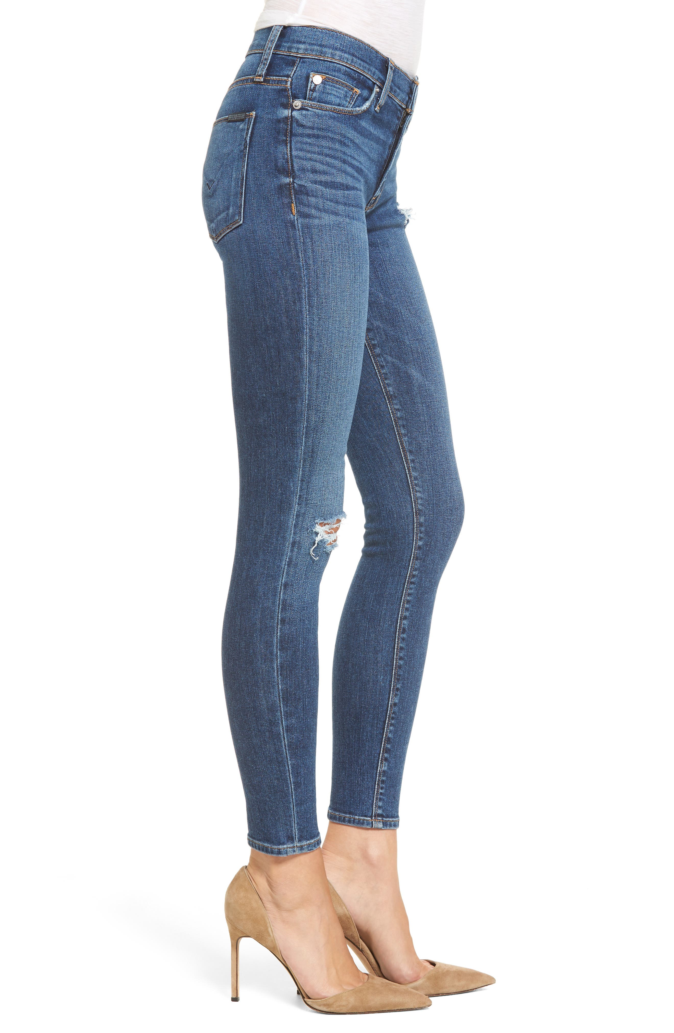 Nico Ankle Super Skinny Jeans,                             Alternate thumbnail 3, color,                             420
