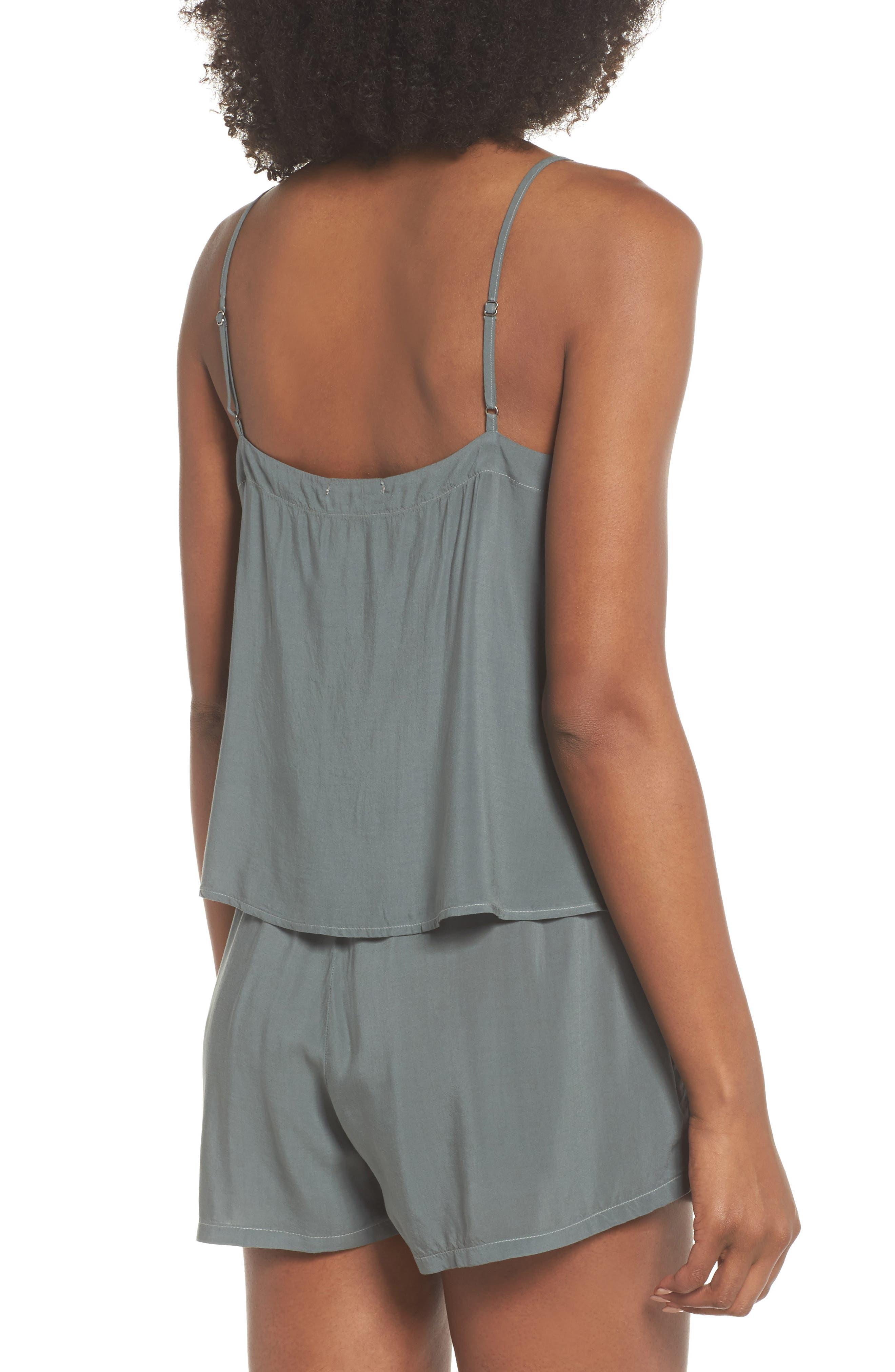 Poppy Short & Camisole Pajamas,                             Alternate thumbnail 2, color,                             440