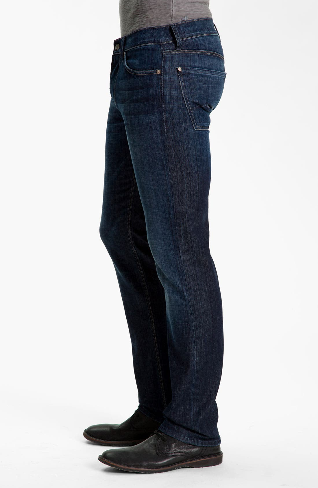Slimmy Slim Fit Jeans,                             Alternate thumbnail 3, color,                             LOS ANGELES DARK