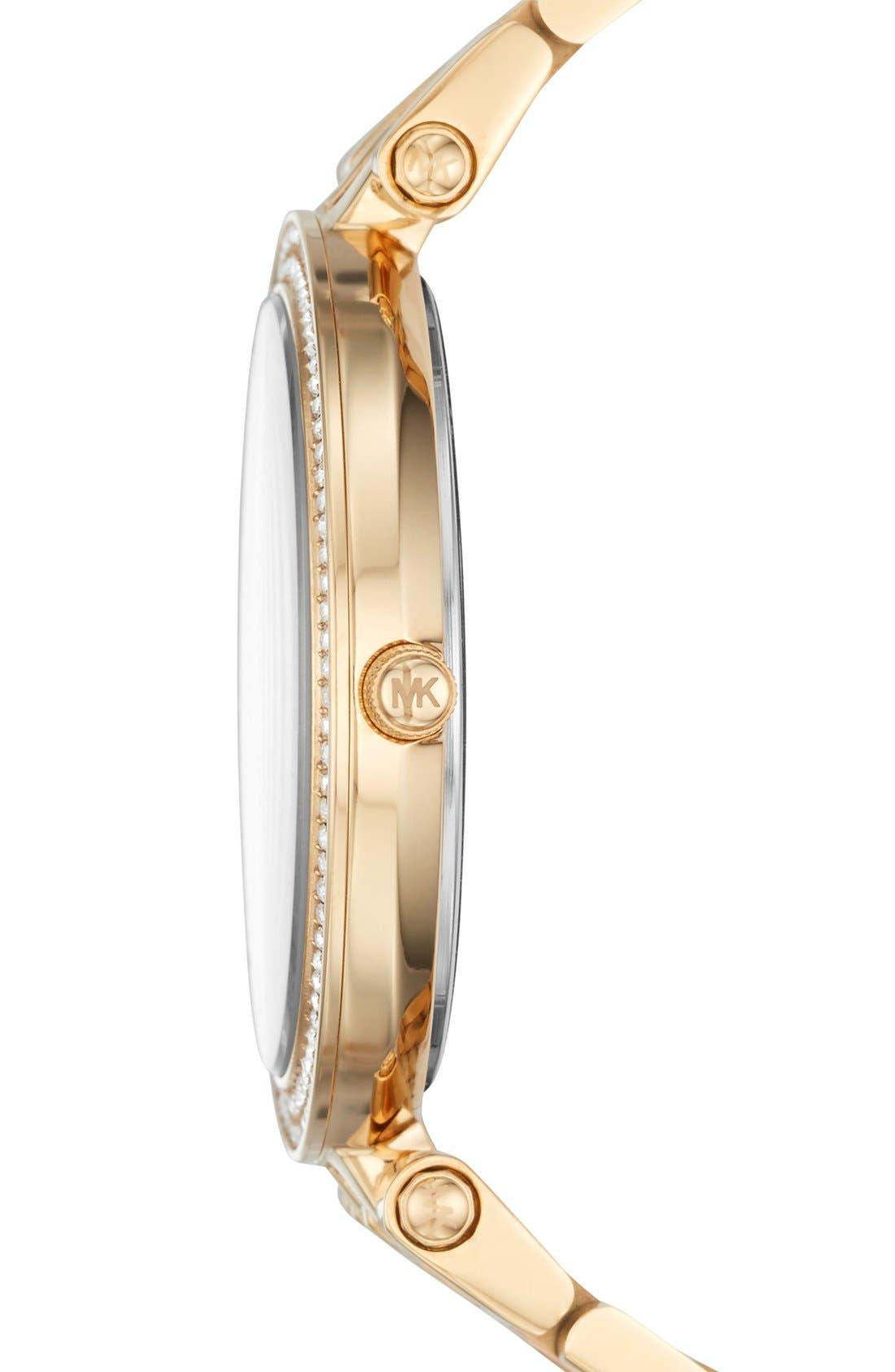 'Darci' Round Bracelet Watch, 39mm,                             Alternate thumbnail 40, color,