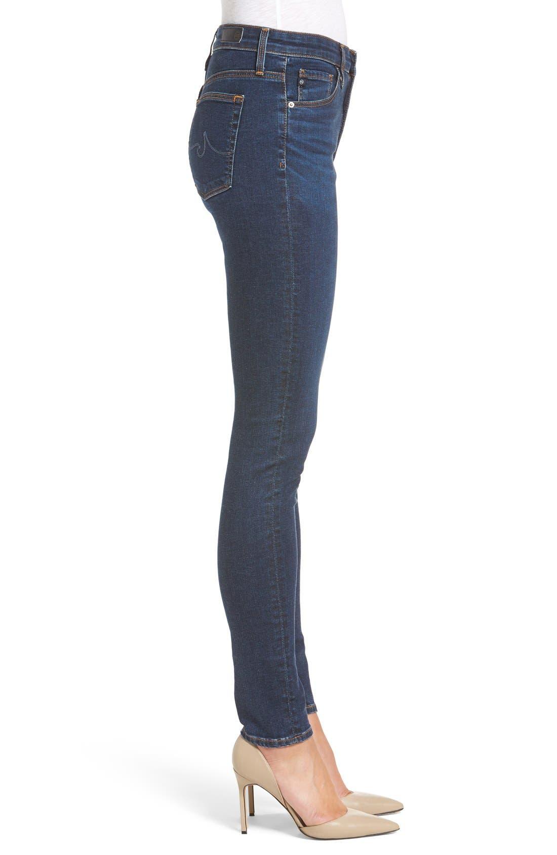 'The Farrah' High Rise Skinny Jeans,                             Alternate thumbnail 47, color,