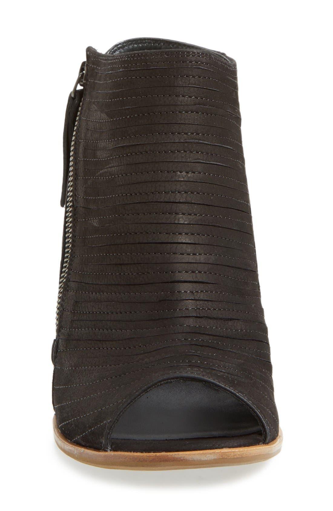 'Cayanne' Leather Peep Toe Sandal,                             Alternate thumbnail 15, color,