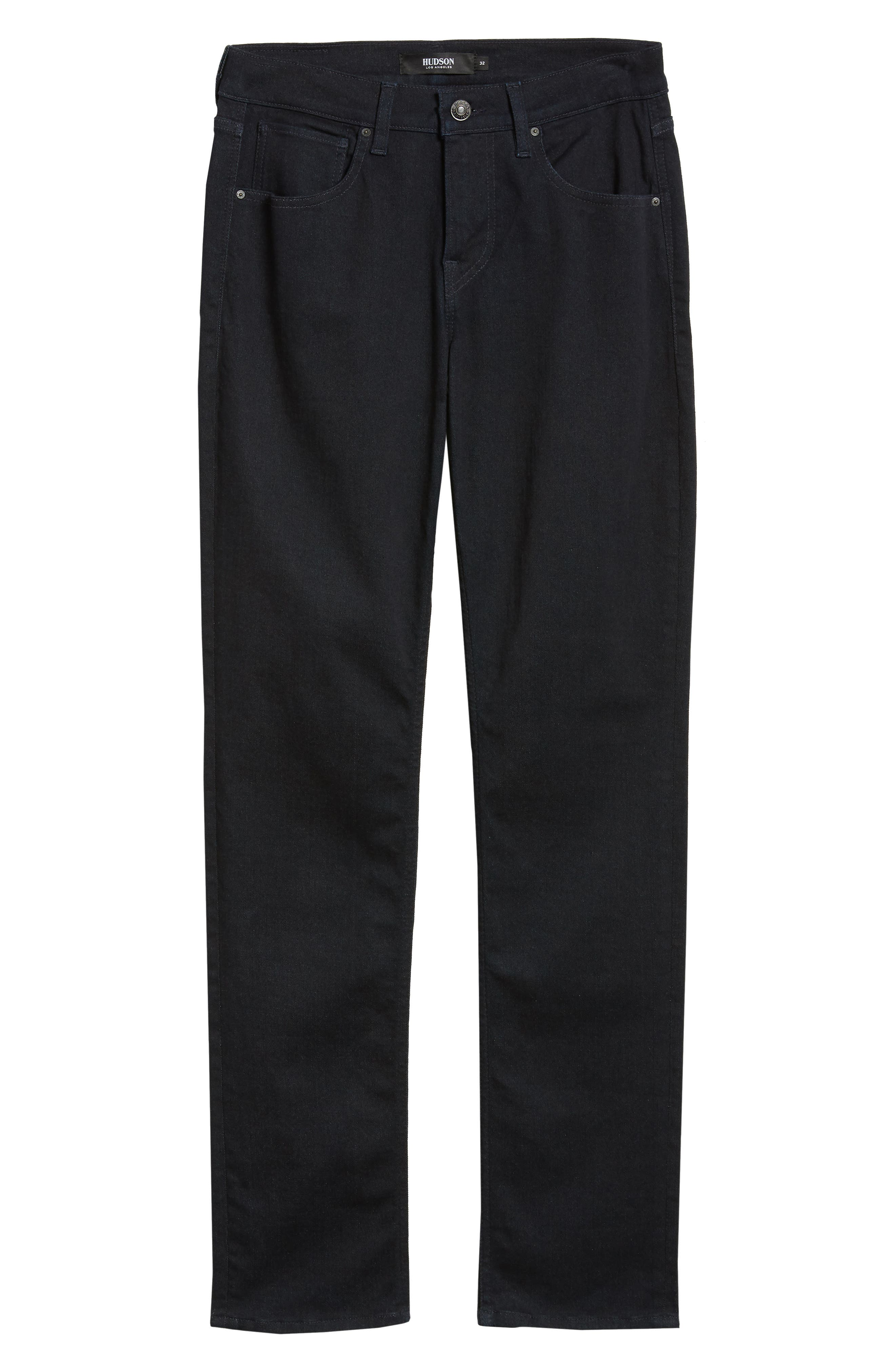 Blake Slim Fit Straight Leg Jeans,                             Alternate thumbnail 6, color,                             WILLIAMS