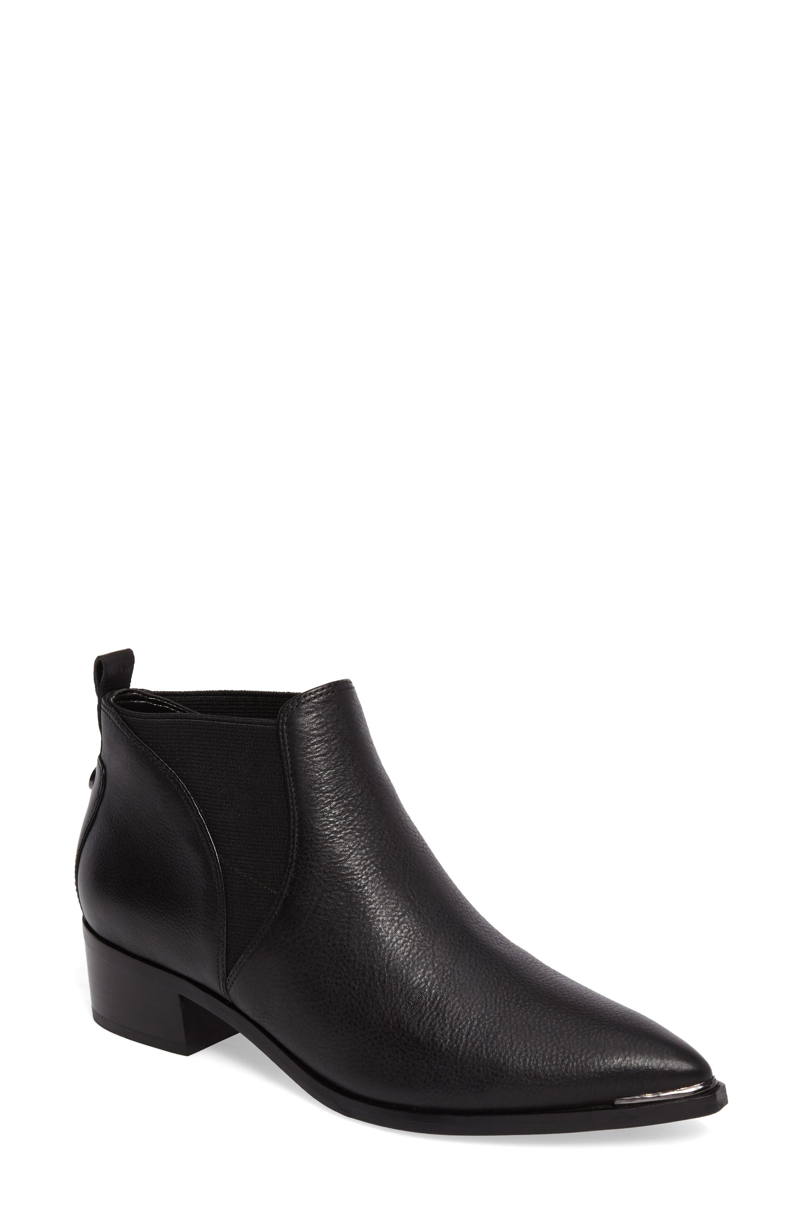 Yellin Pointy Toe Chelsea Boot,                         Main,                         color, 001