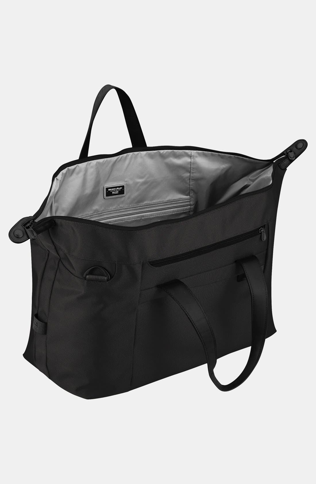 BRIGGS & RILEY,                             'Baseline' Duffel Bag,                             Alternate thumbnail 7, color,                             BLACK