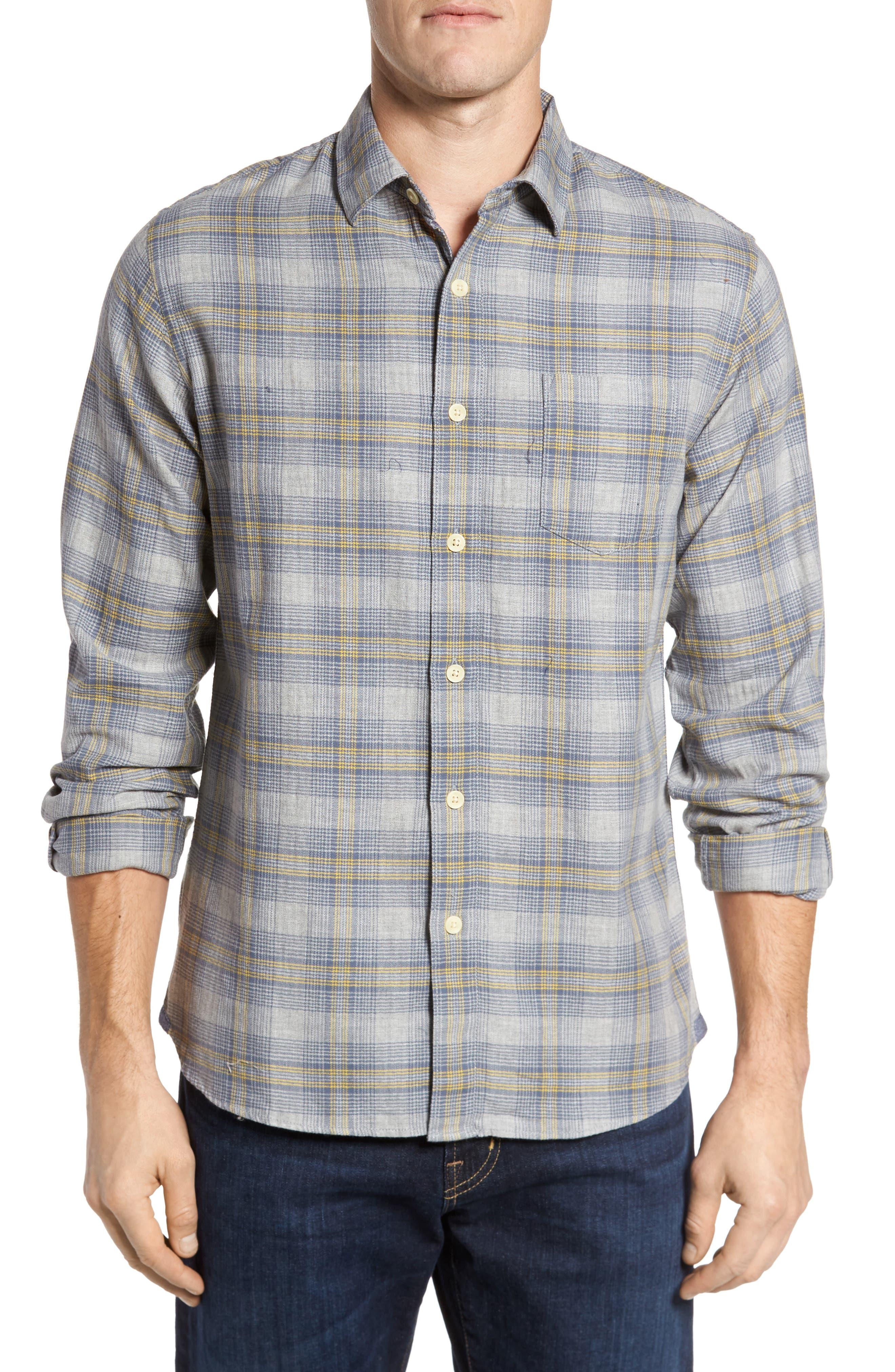 Laugna Herringbone Twill Shirt,                             Main thumbnail 1, color,                             032