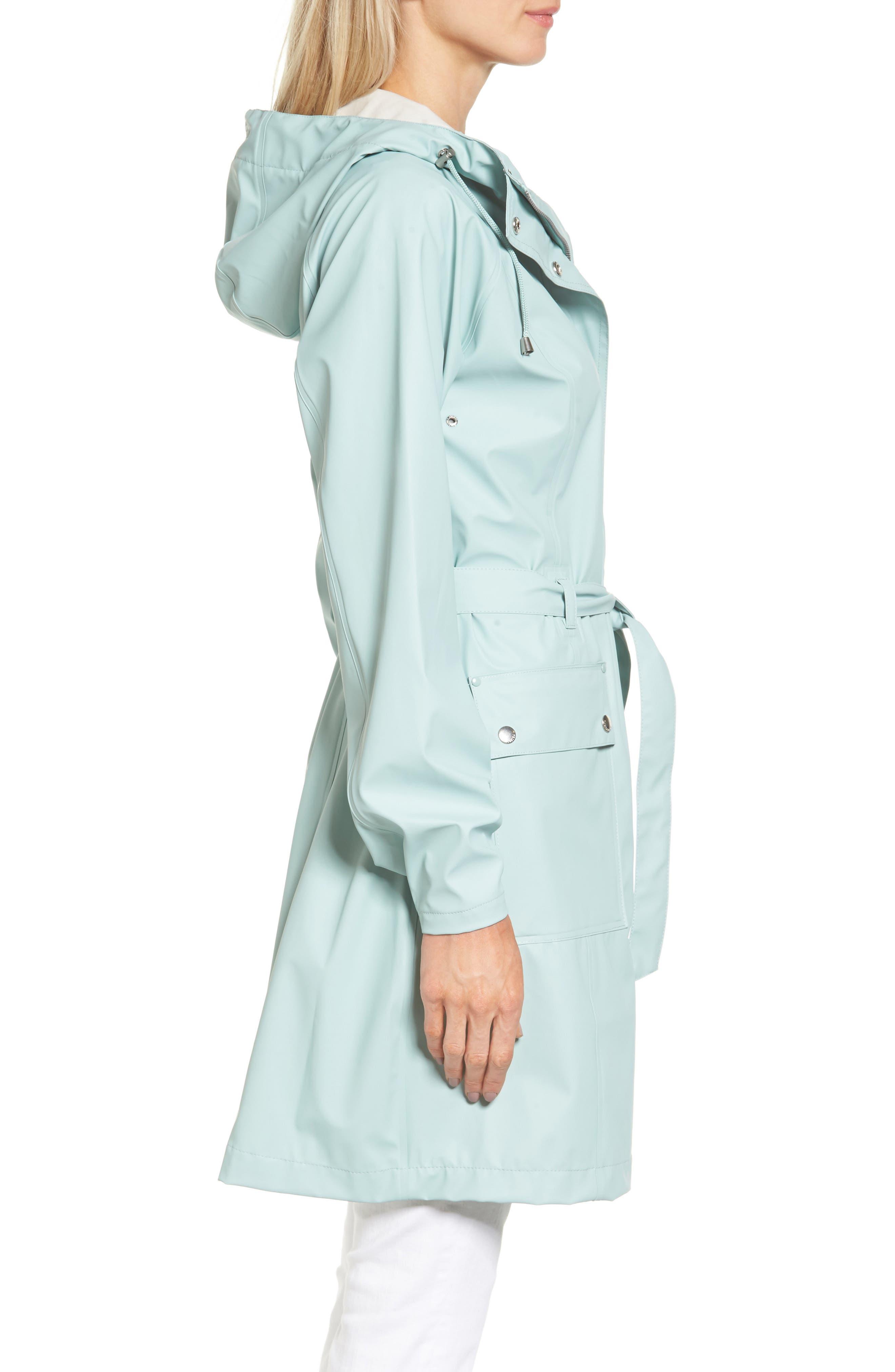 Hornbæk Hooded Raincoat,                             Alternate thumbnail 6, color,