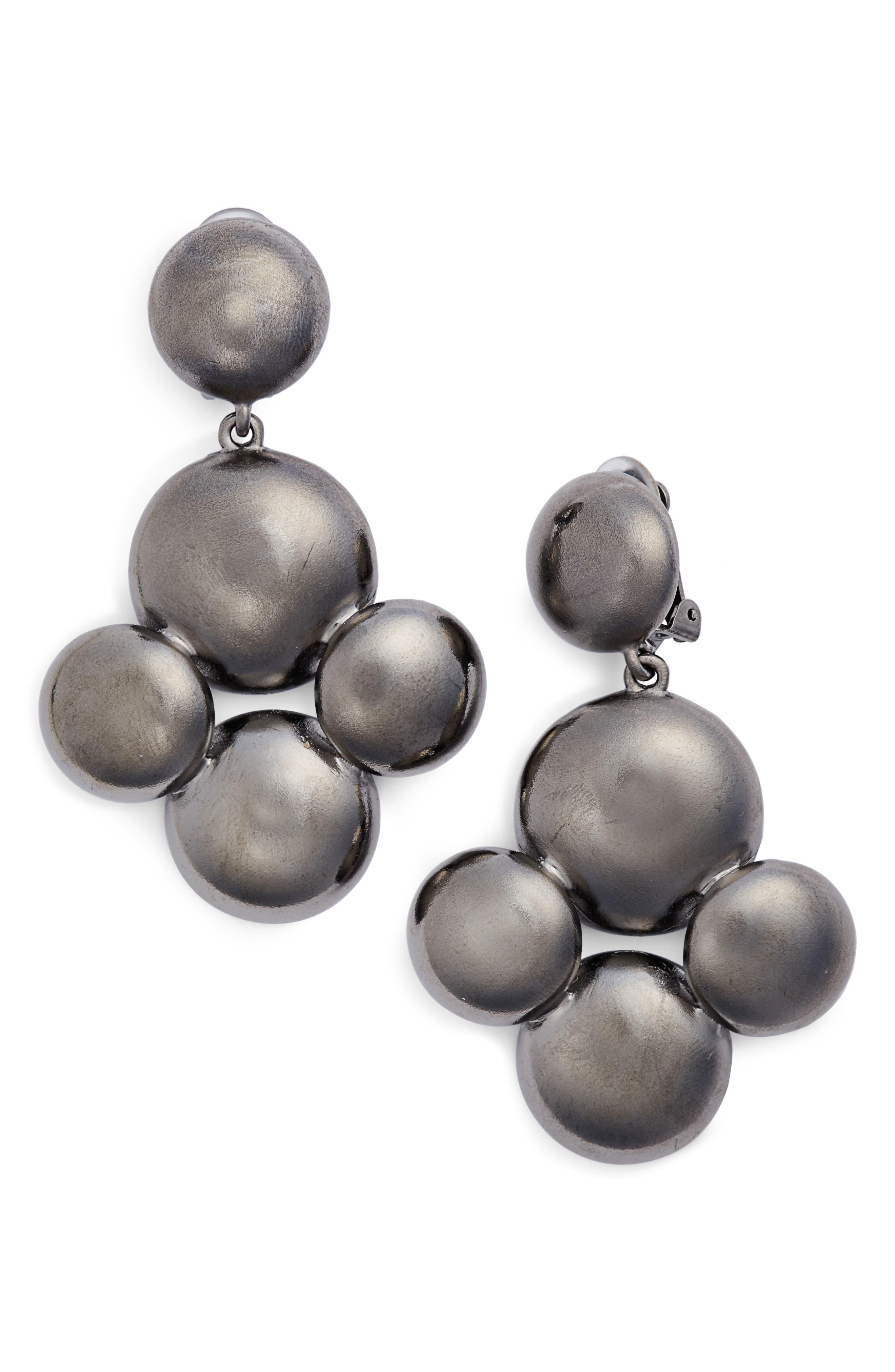 Beaded Drop Earrings,                             Main thumbnail 1, color,                             040