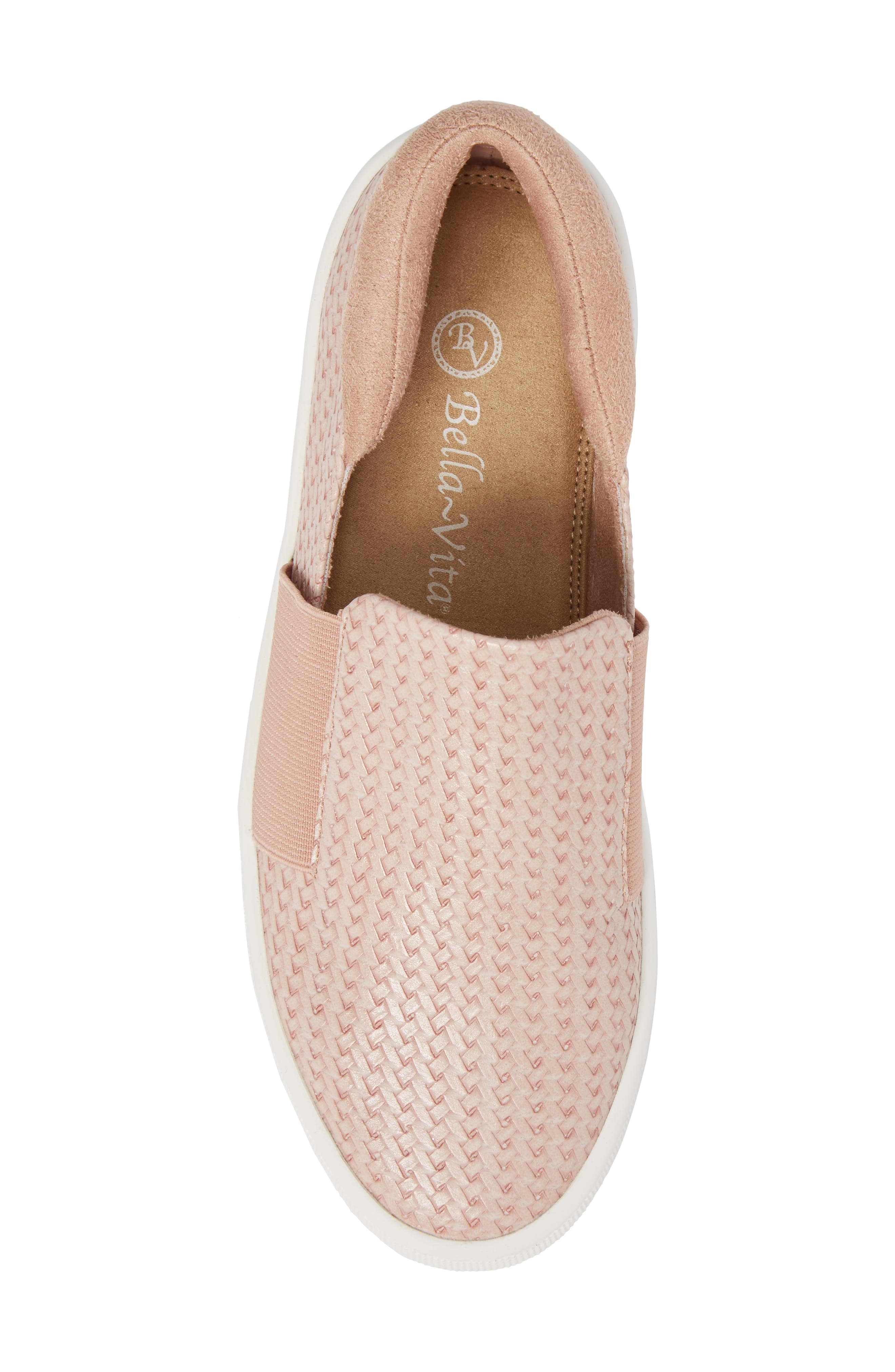 Ramp II Slip-On Sneaker,                             Alternate thumbnail 5, color,                             BLUSH FABRIC