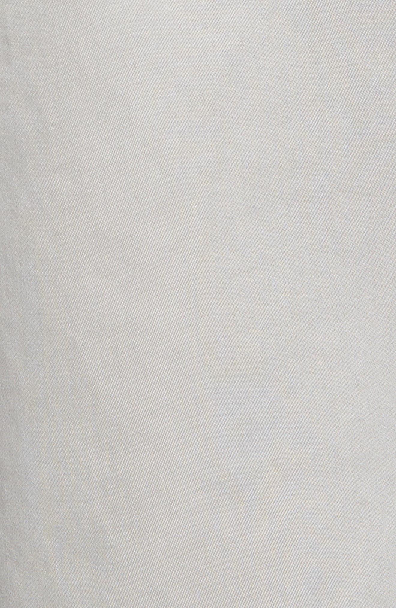 Stretch Sateen Five-Pocket Pants,                             Alternate thumbnail 5, color,                             050