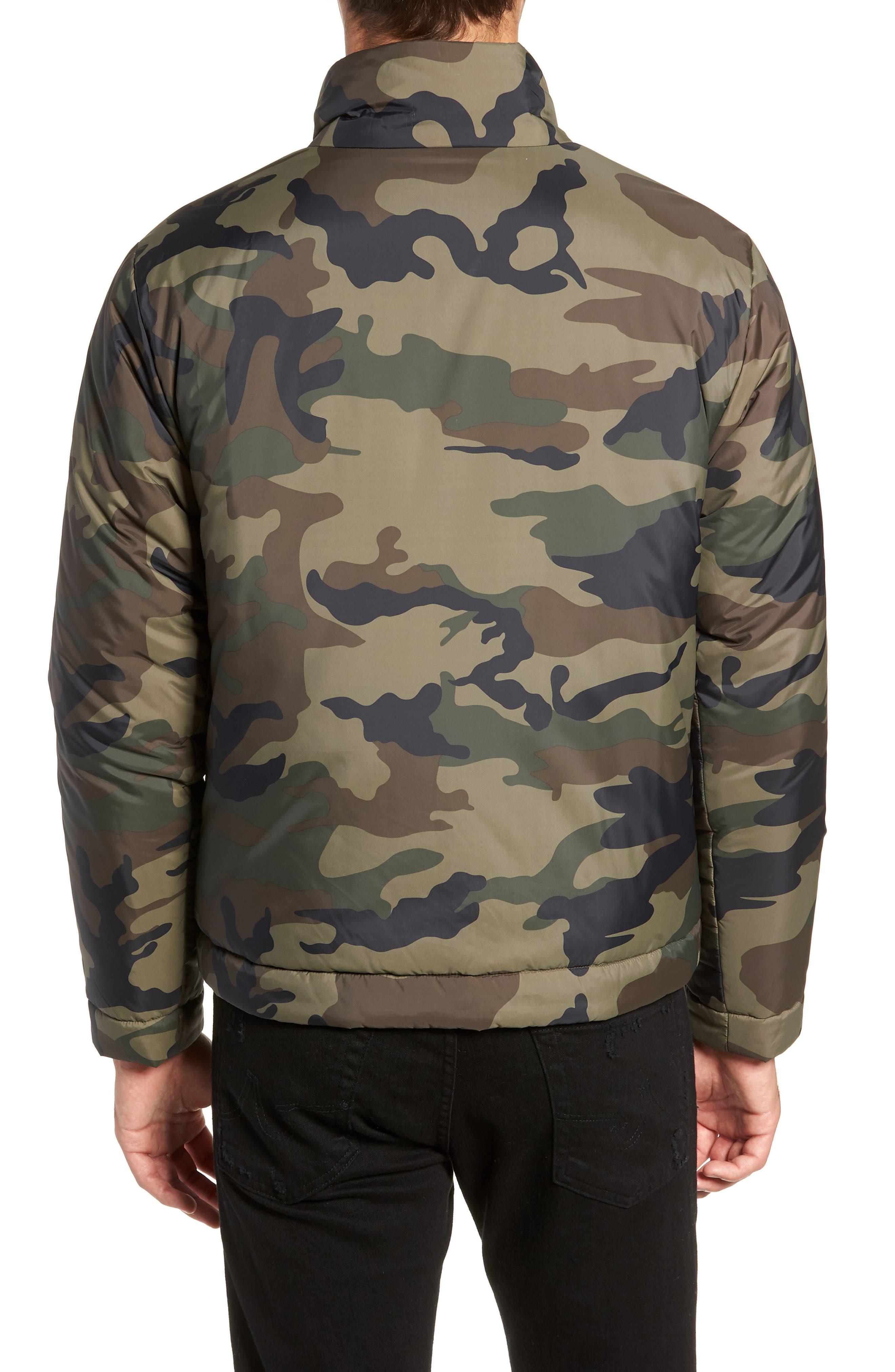 Buckhorn Slim Reversible Jacket,                             Alternate thumbnail 3, color,                             SPRIG