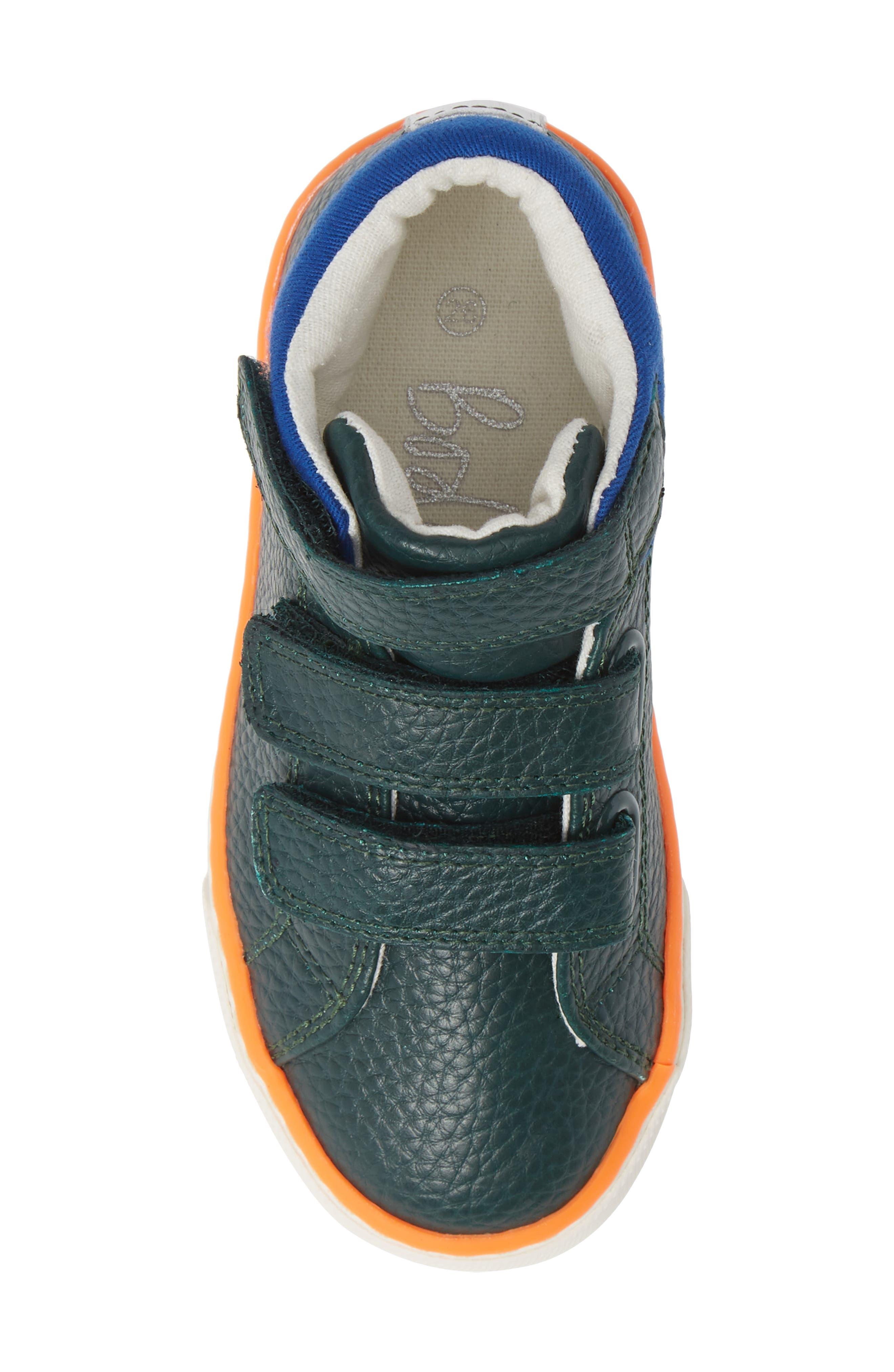 High Top Sneaker,                             Alternate thumbnail 5, color,                             SCOTTS PINE GREEN