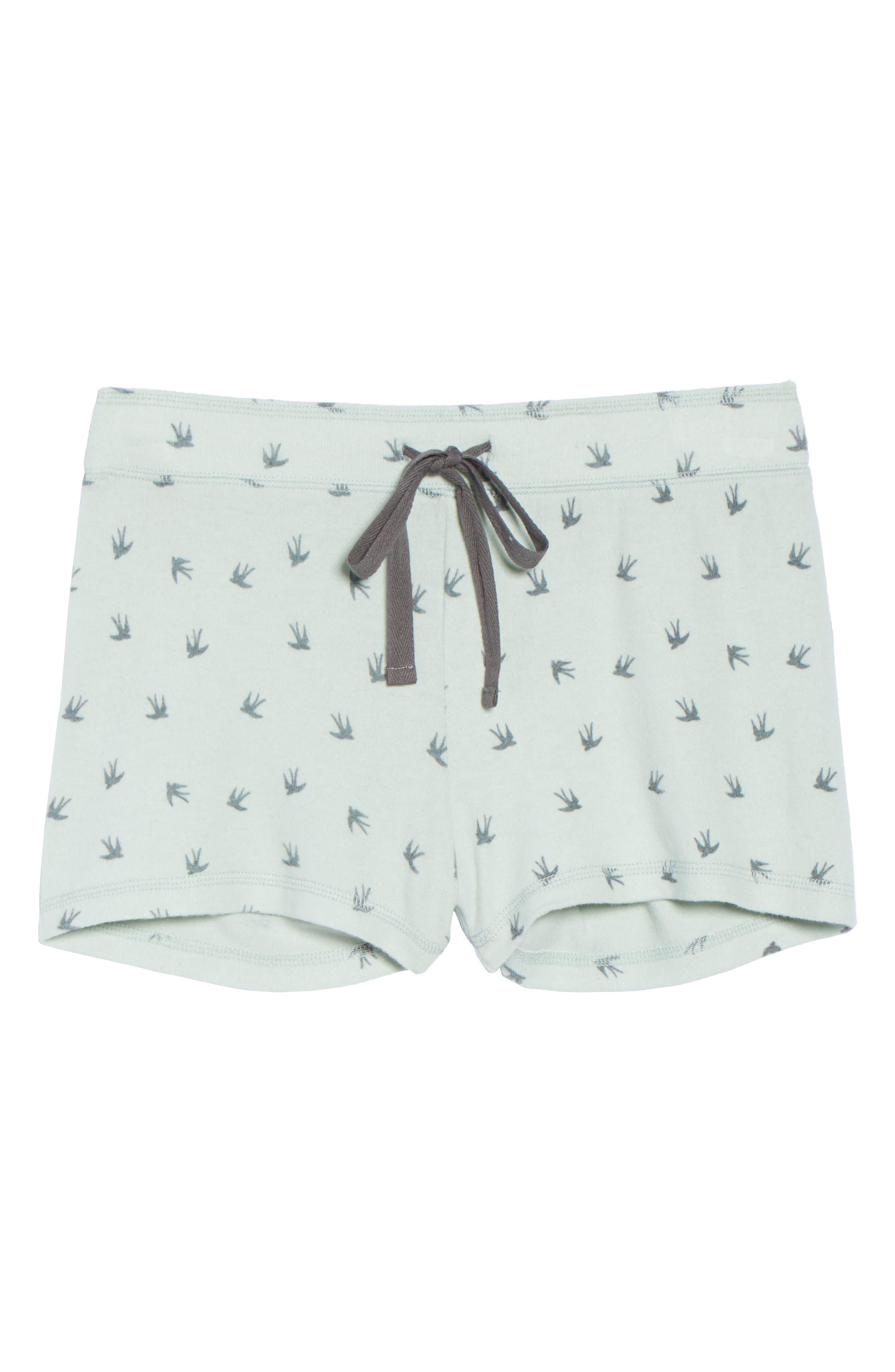 Peachy Pajama Shorts,                             Alternate thumbnail 17, color,