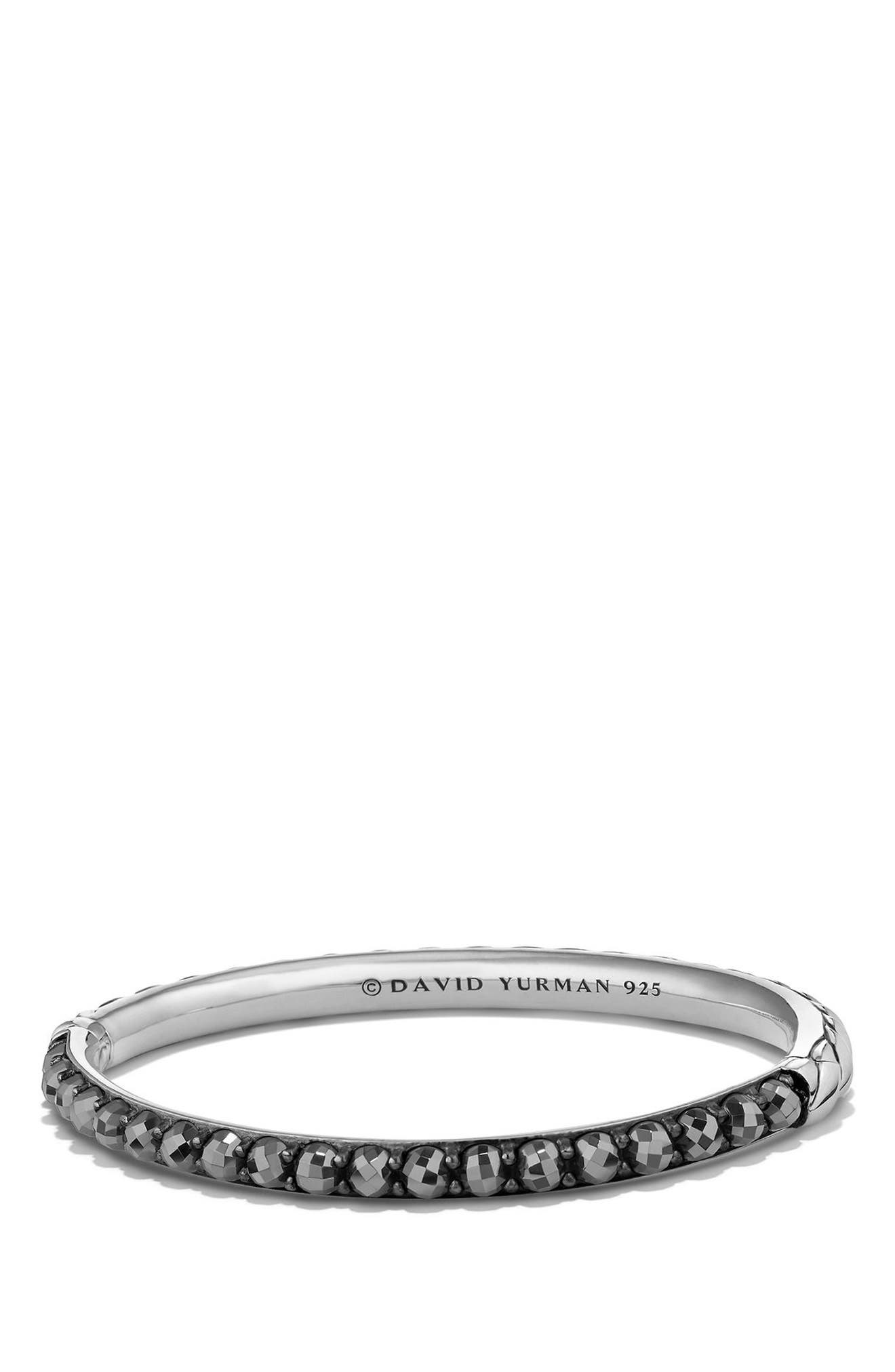 Cable Berries Bangle,                         Main,                         color, HEMATINE