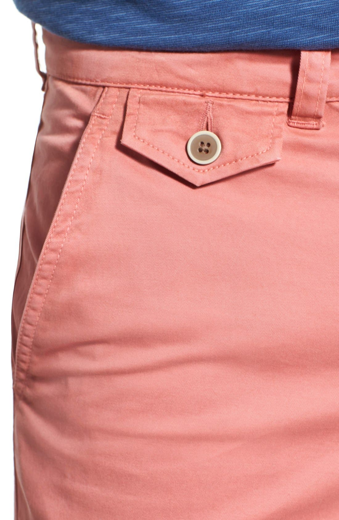 'Sunny' Stretch Twill Chino Shorts,                             Alternate thumbnail 25, color,