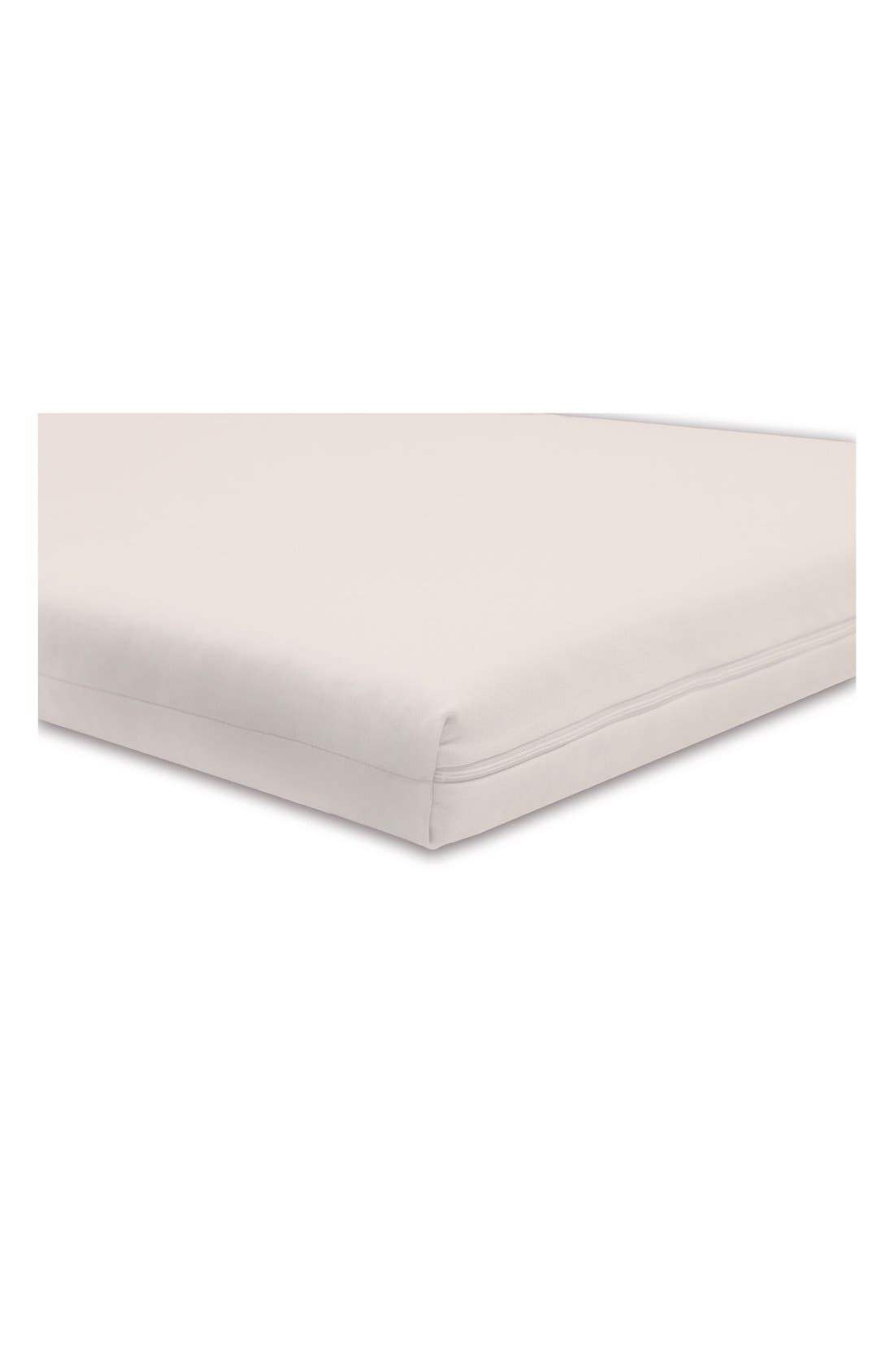 'Coco Core' Nontoxic Crib Mattress & DRY Waterproof Cover,                             Alternate thumbnail 4, color,                             100