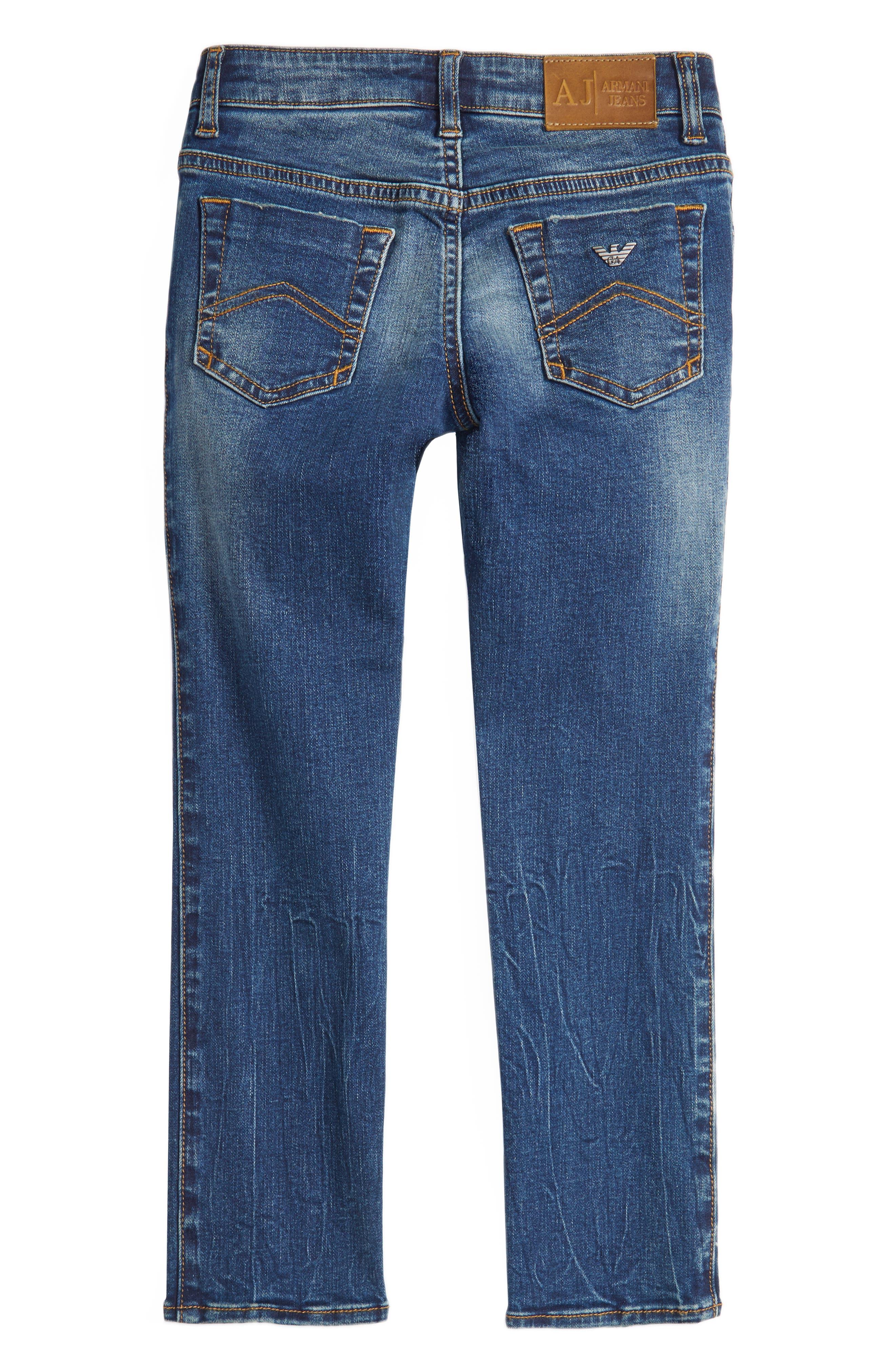 Slim Straight Leg Jeans,                             Alternate thumbnail 2, color,