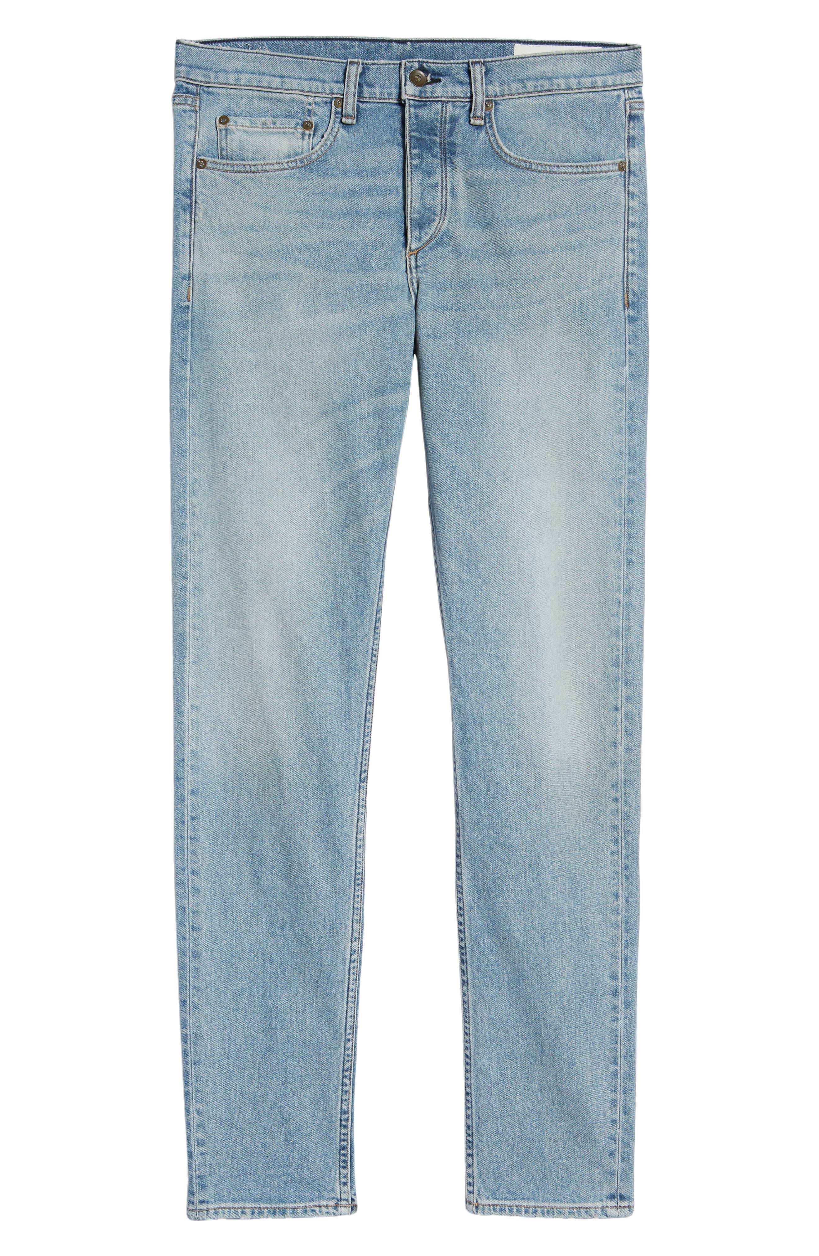 Fit 2 Slim Fit Jeans,                             Alternate thumbnail 6, color,                             400