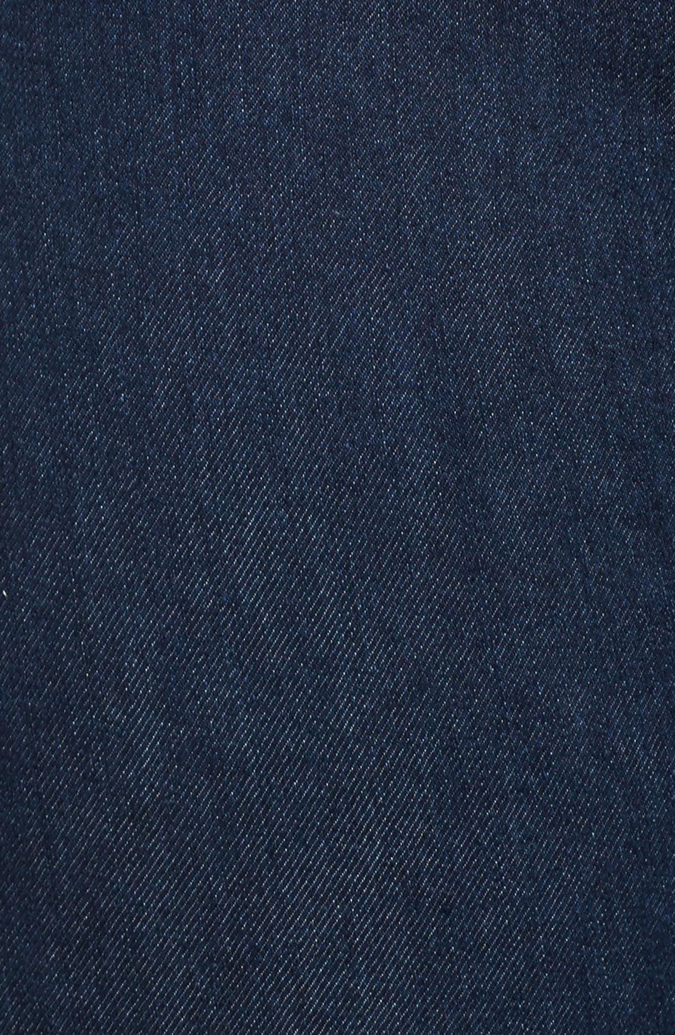 Super High-Waist Skinny Ankle Jeans,                             Alternate thumbnail 5, color,                             401