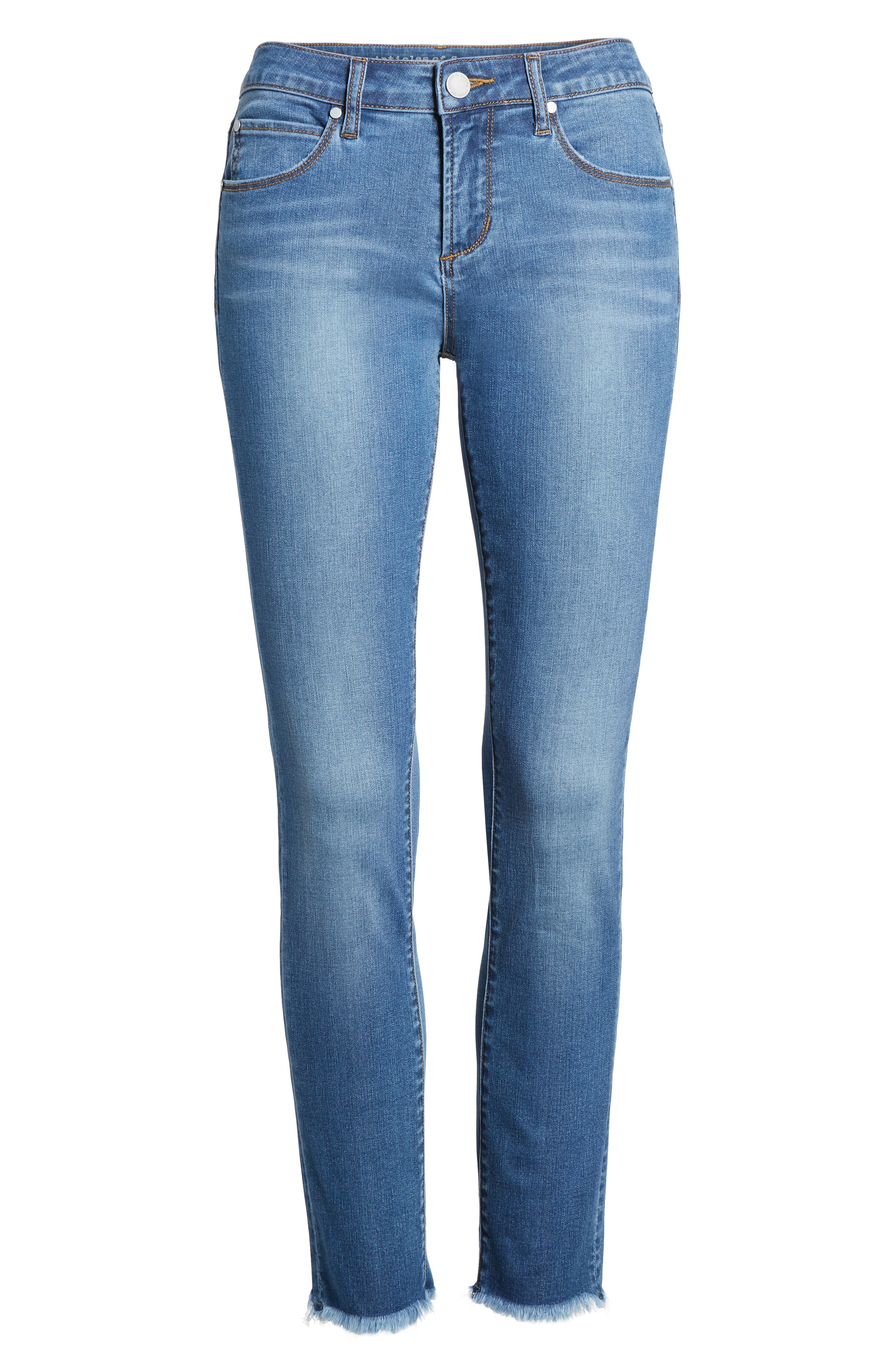 Carly Ankle Skinny Jeans,                             Alternate thumbnail 7, color,                             400
