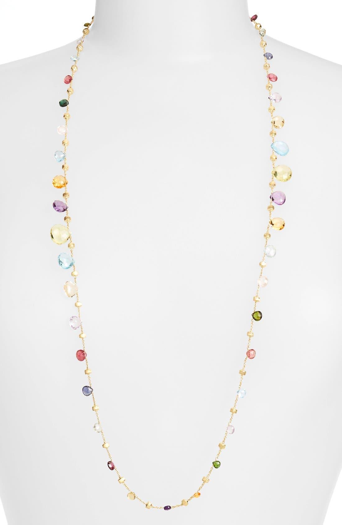 'Paradise' Long Station Necklace,                             Main thumbnail 1, color,                             710