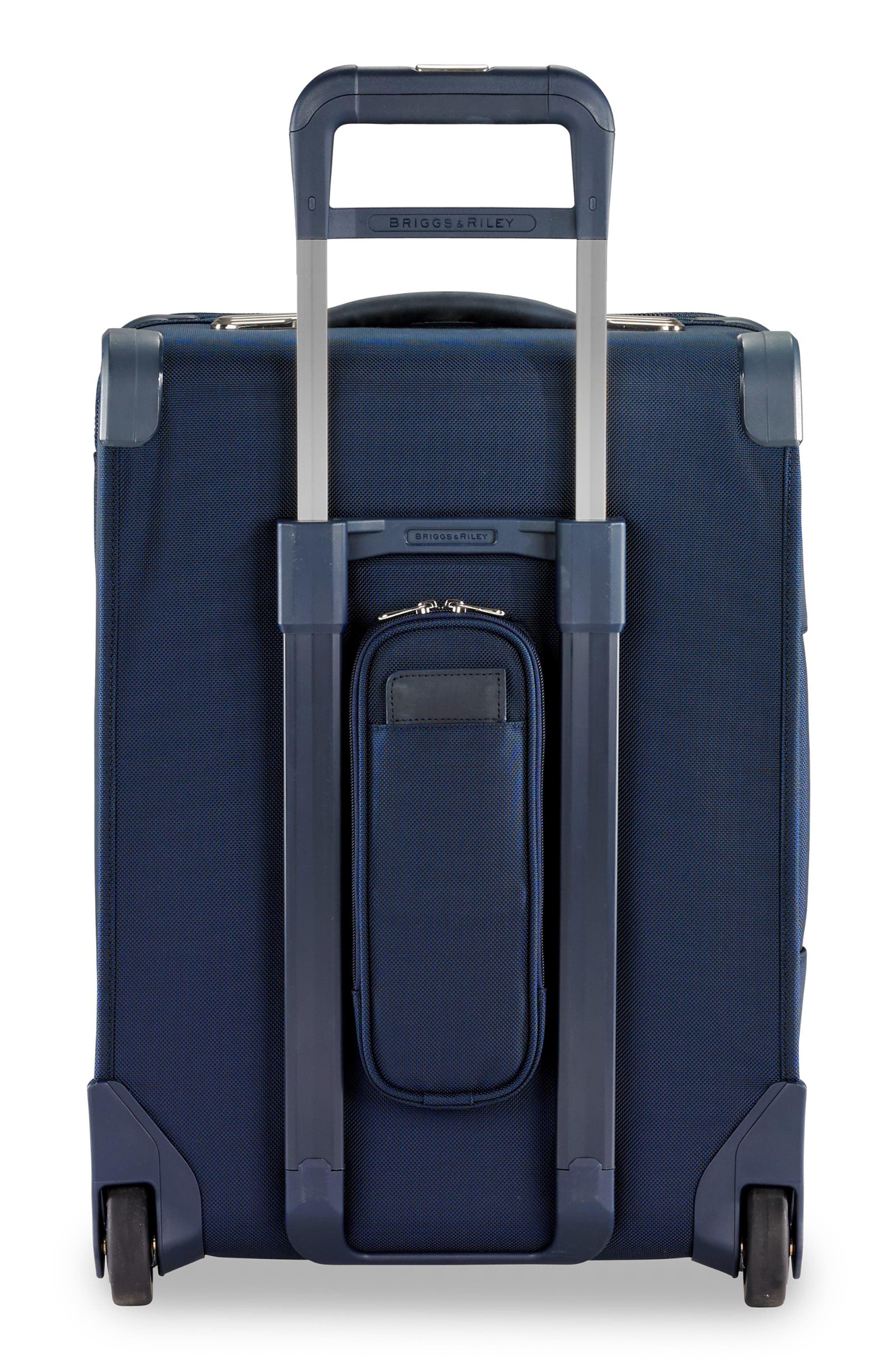 21-Inch Baseline Widebody International Rolling Carry-On,                             Alternate thumbnail 4, color,                             NAVY