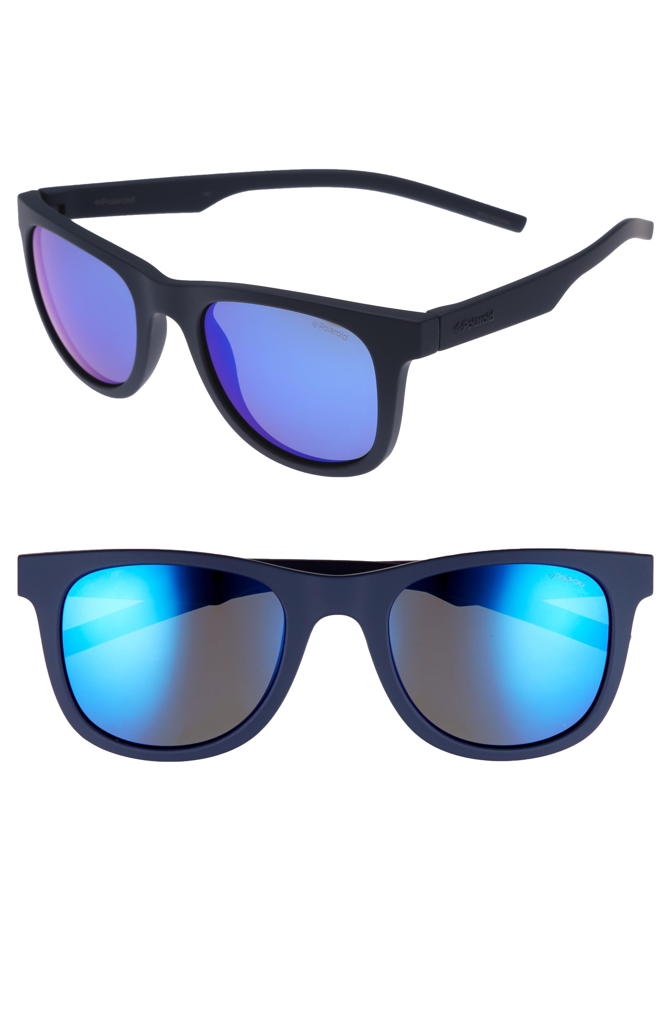 Polaroid 7020S 52mm Polarized Sunglasses,                             Main thumbnail 2, color,