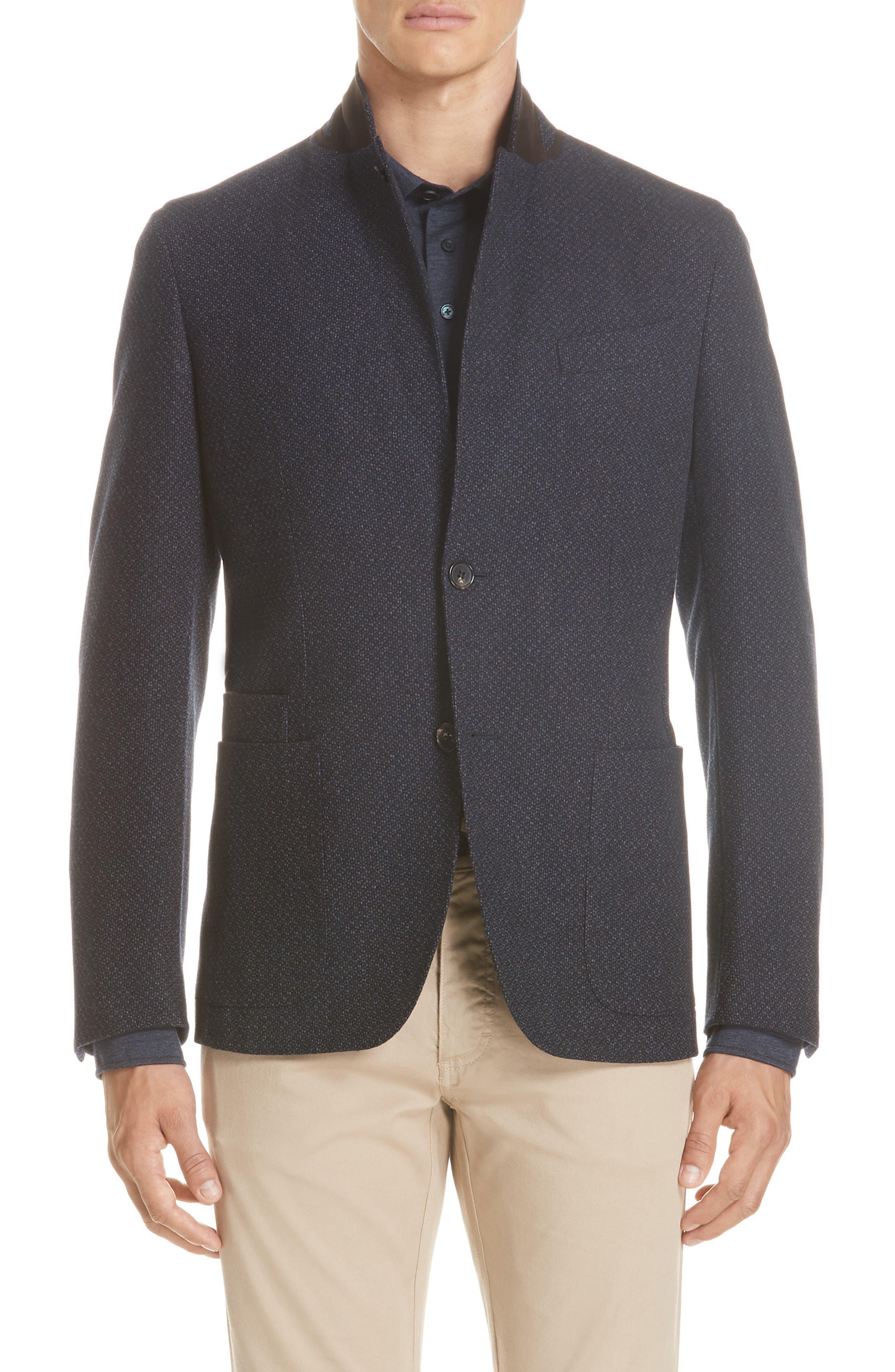 Trim Fit Wool & Cashmere Sport Coat,                         Main,                         color, 416
