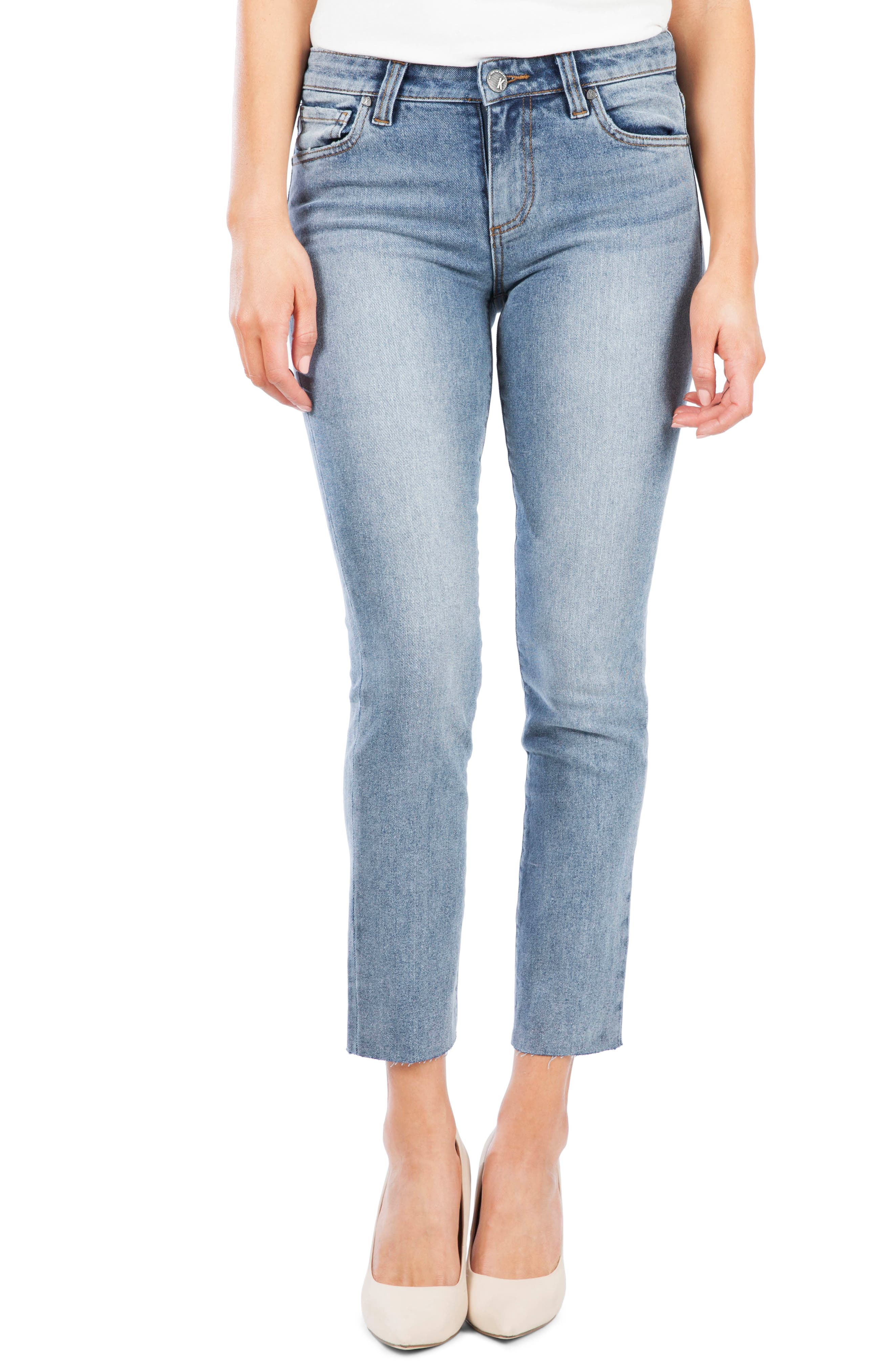 Kut From The Kloth Reese Ankle Slim Jeans, Blue