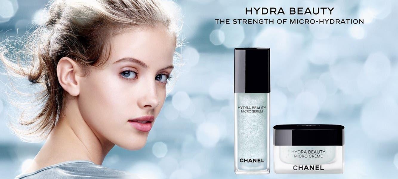 CHANEL Hydra Beauty skin care.