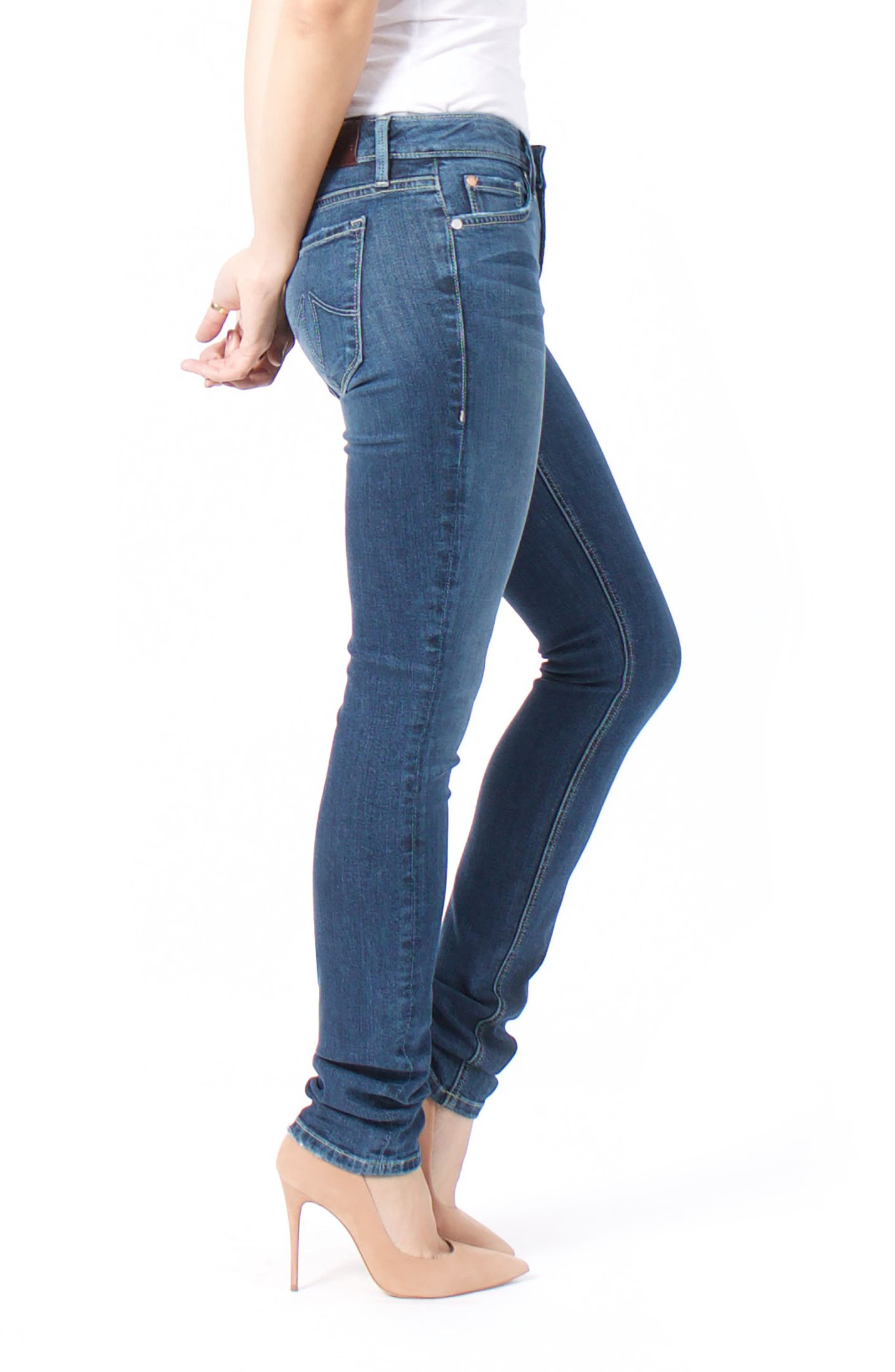 Lily Stretch Skinny Jeans,                             Alternate thumbnail 11, color,