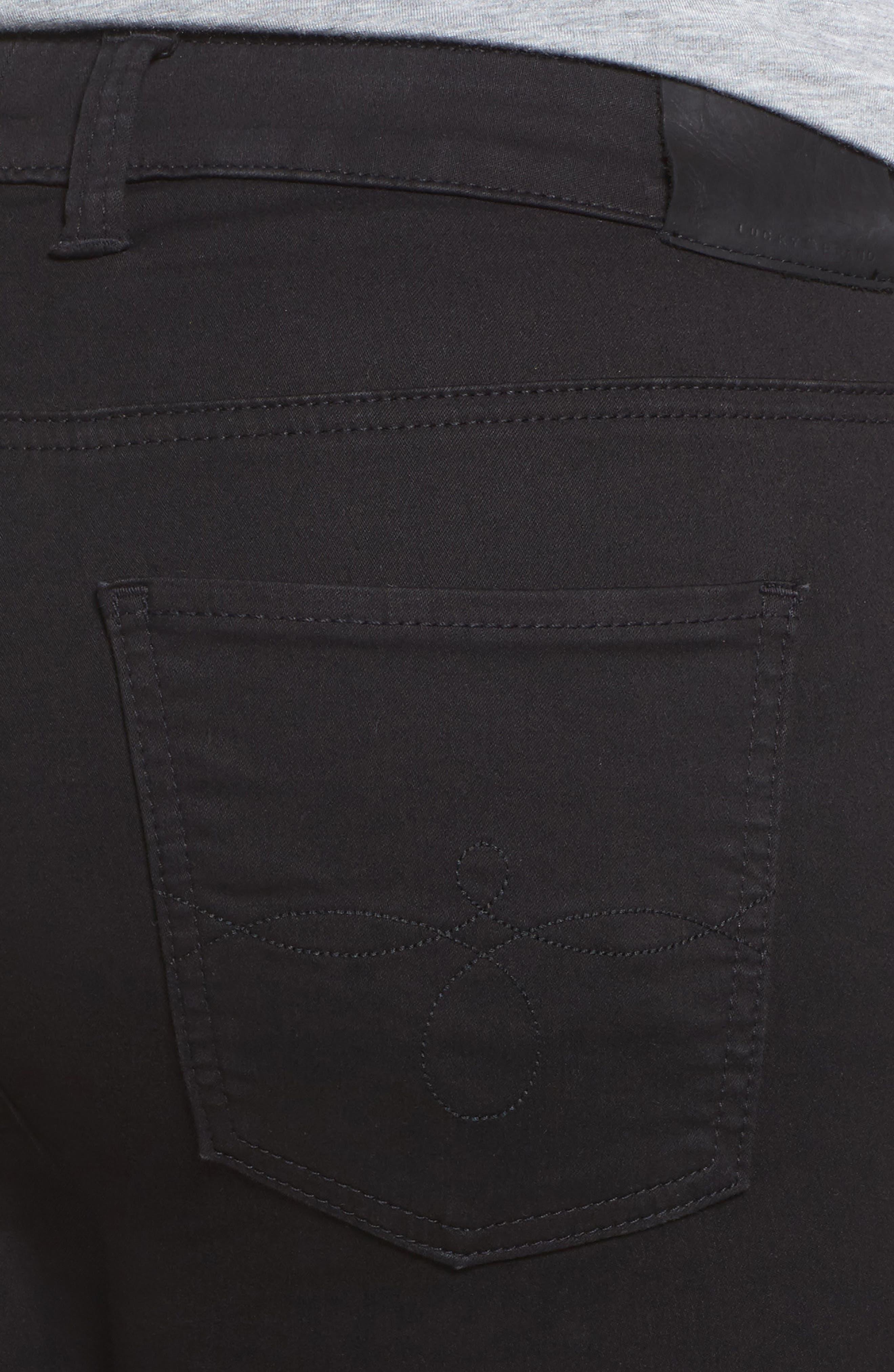 Ginger Skinny Jeans,                             Alternate thumbnail 4, color,