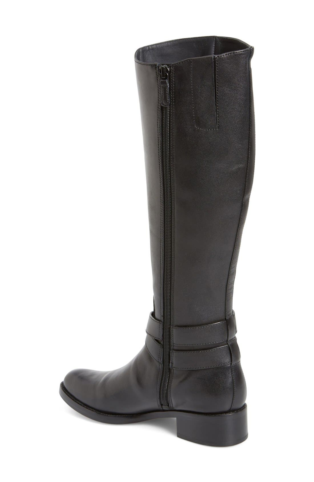 COLE HAAN,                             'Briarcliff' Riding Boot,                             Alternate thumbnail 2, color,                             001
