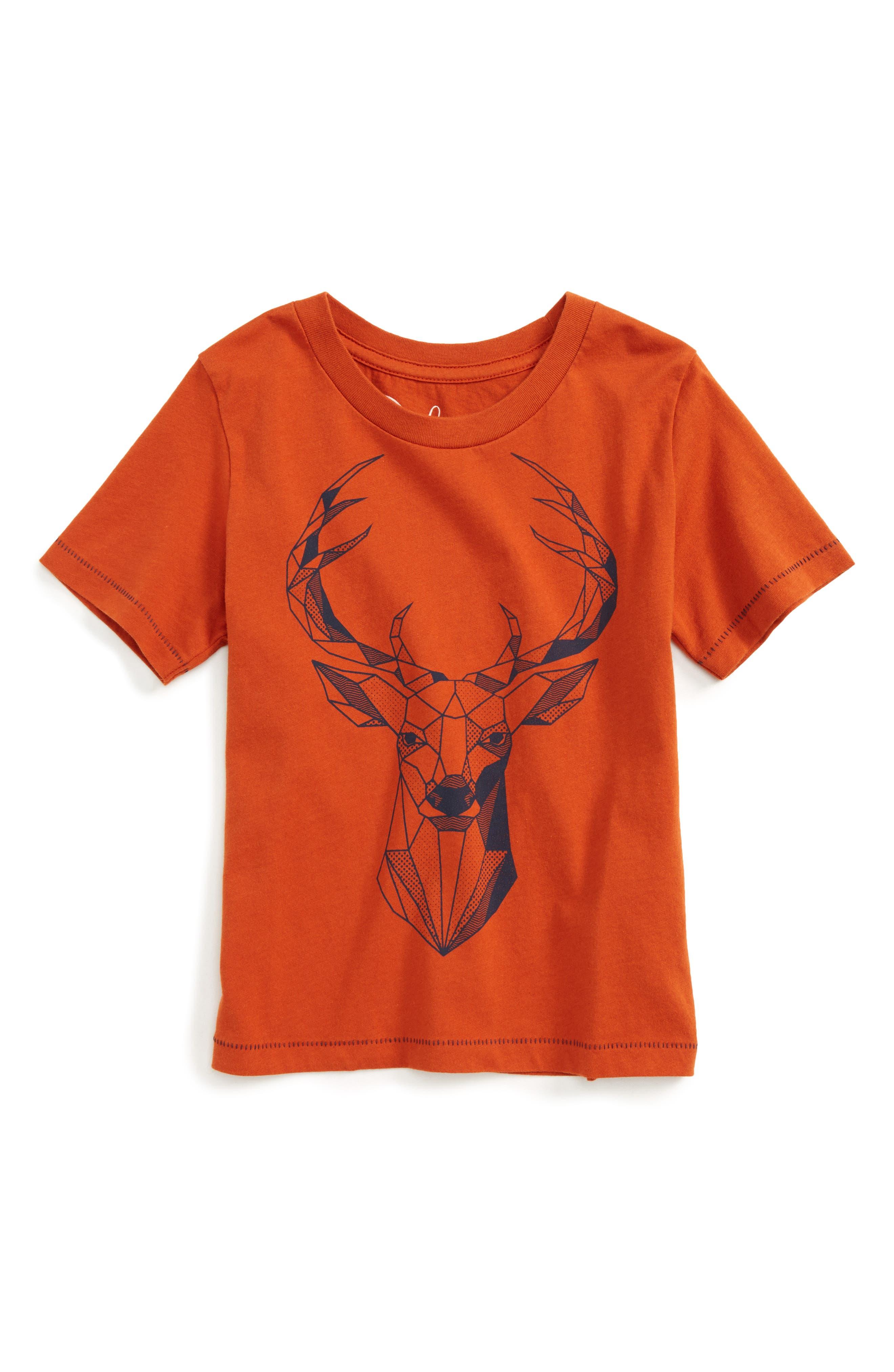 Geo Deer T-Shirt,                             Main thumbnail 1, color,                             800