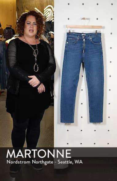 Izzy High Waist Slim Crop Jeans, sales video thumbnail