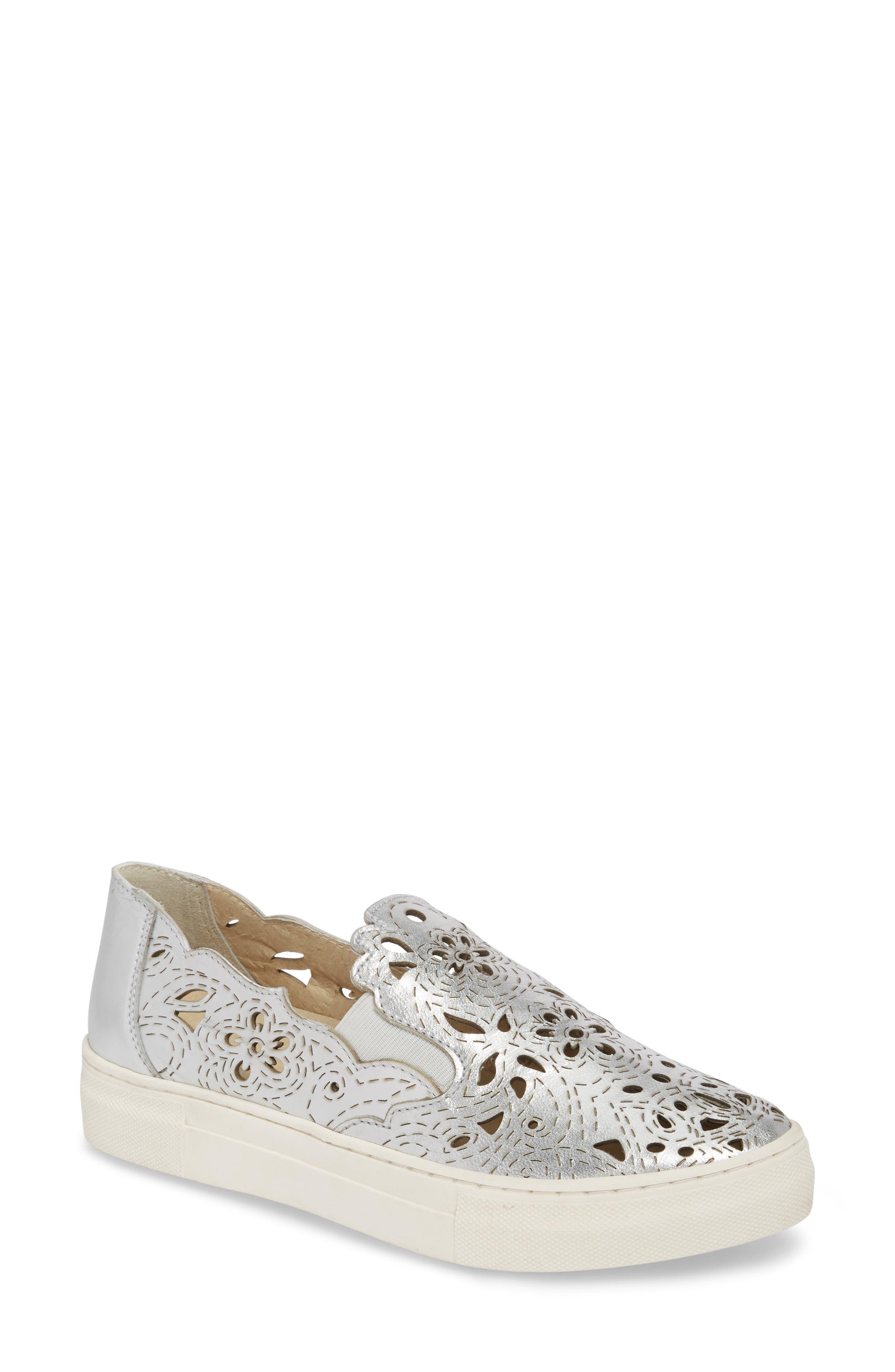 Even Better Laser Cutout Slip-On Sneaker,                         Main,                         color, 040