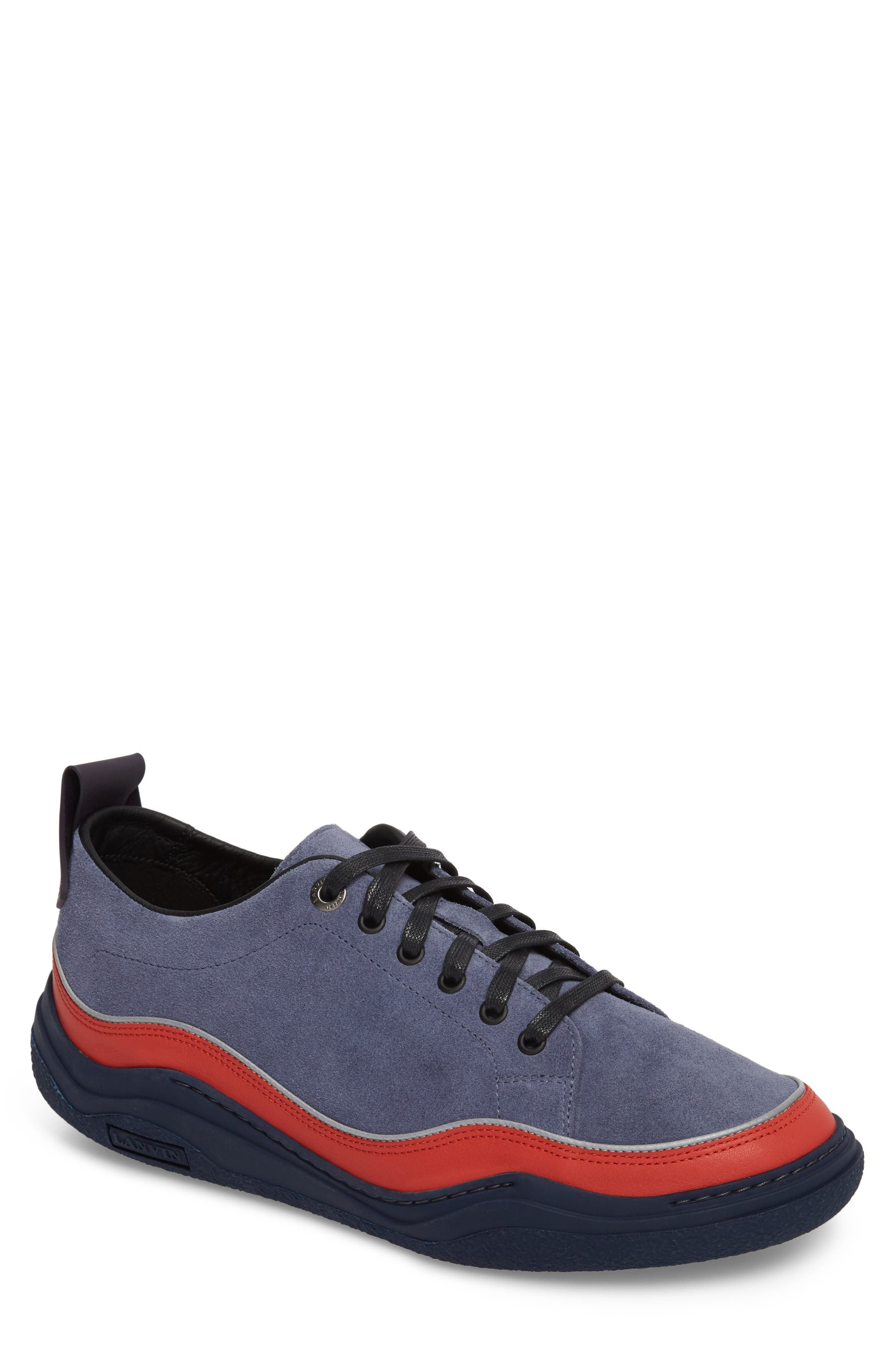 LANVIN Diving Sneaker, Main, color, 450